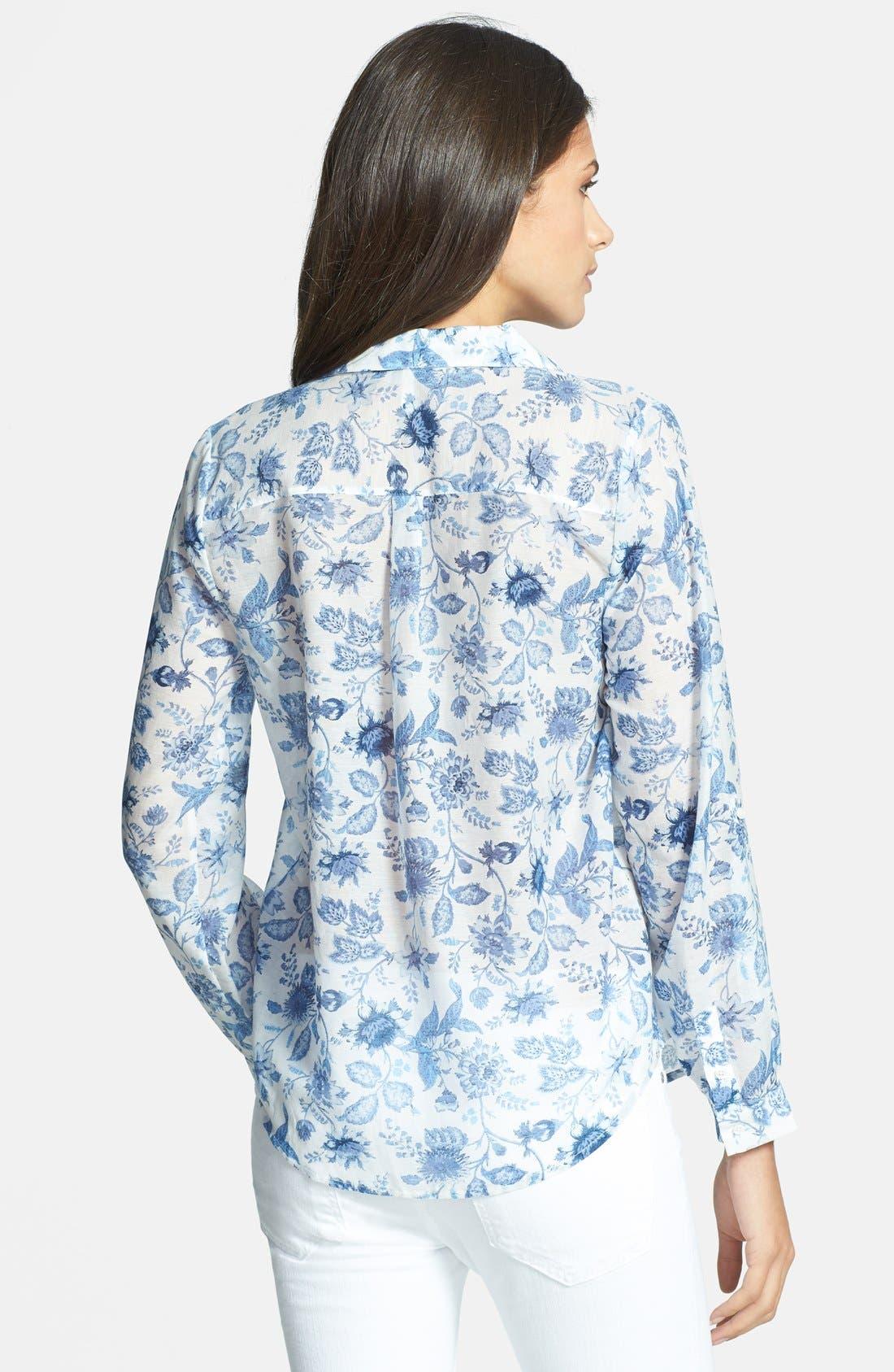 Alternate Image 2  - Joie 'Katrine' Cotton & Silk Blouse