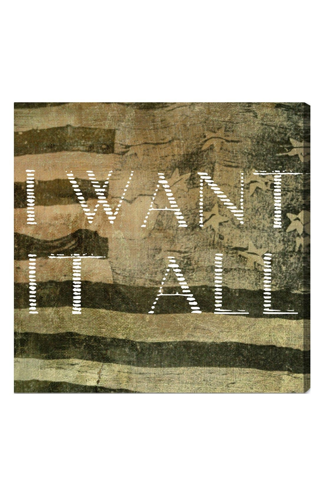 Alternate Image 1 Selected - Oliver Gal 'I Want It All' Wall Art