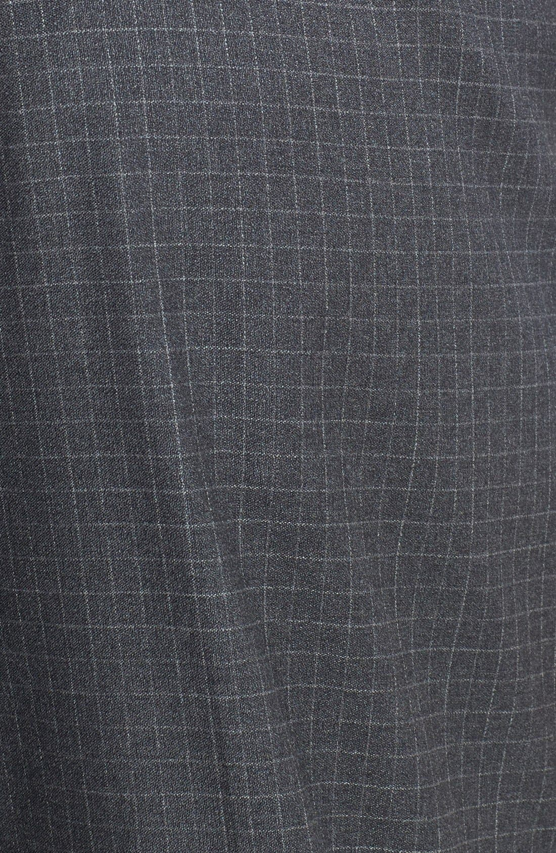Alternate Image 3  - Zanella 'Todd' Flat Front Check Trousers