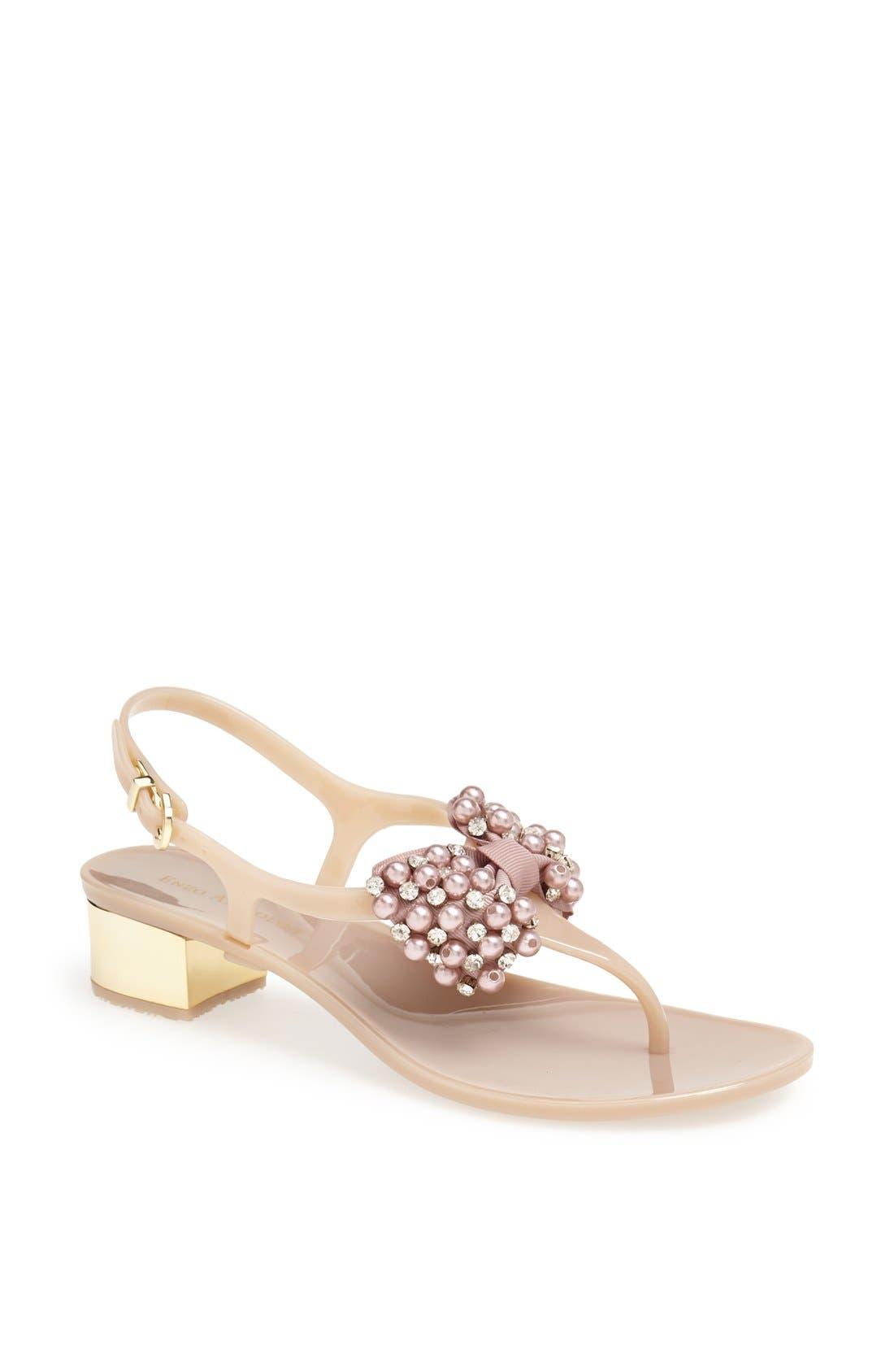 Alternate Image 1 Selected - Enzo Angiolini 'Aiza' Thong Sandal
