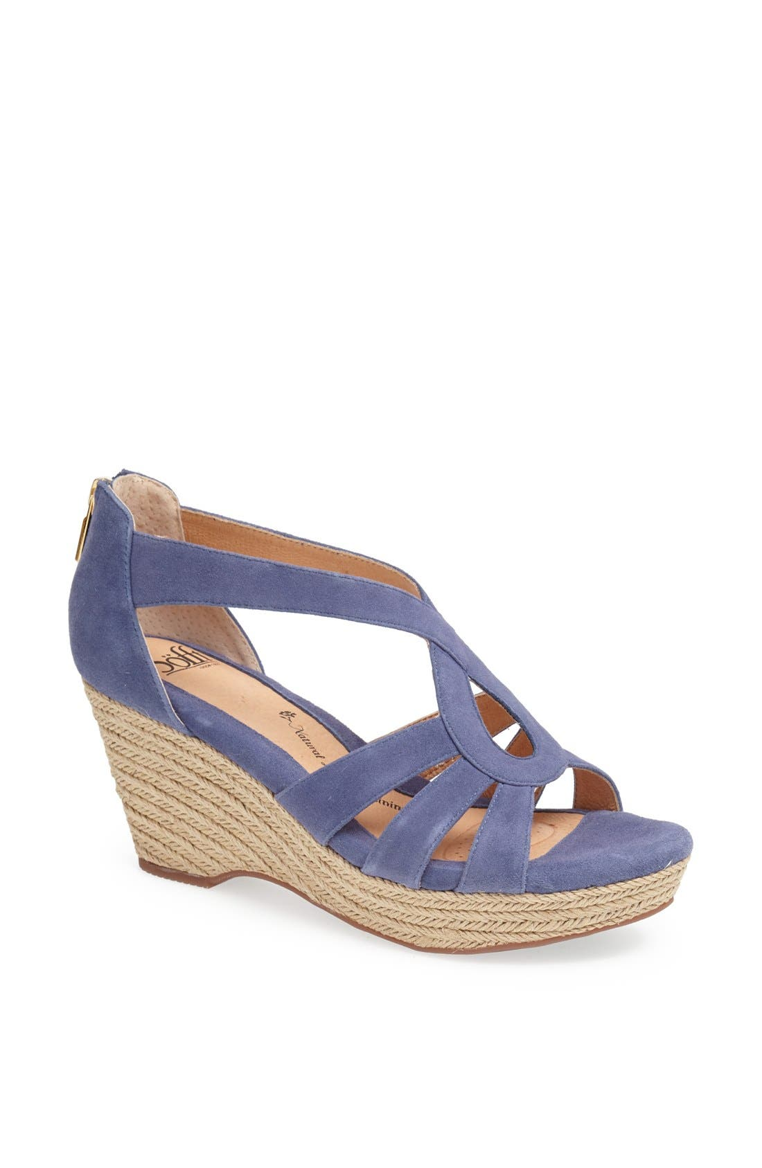 Alternate Image 1 Selected - Söfft 'Mena' Espadrille Wedge Sandal