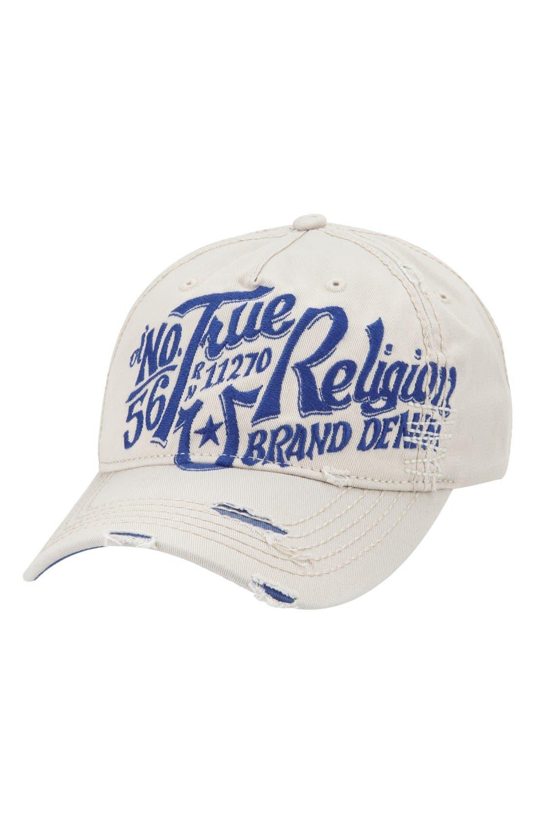 Alternate Image 1 Selected - True Religion Brand Jeans 'Ol 56' Baseball Cap