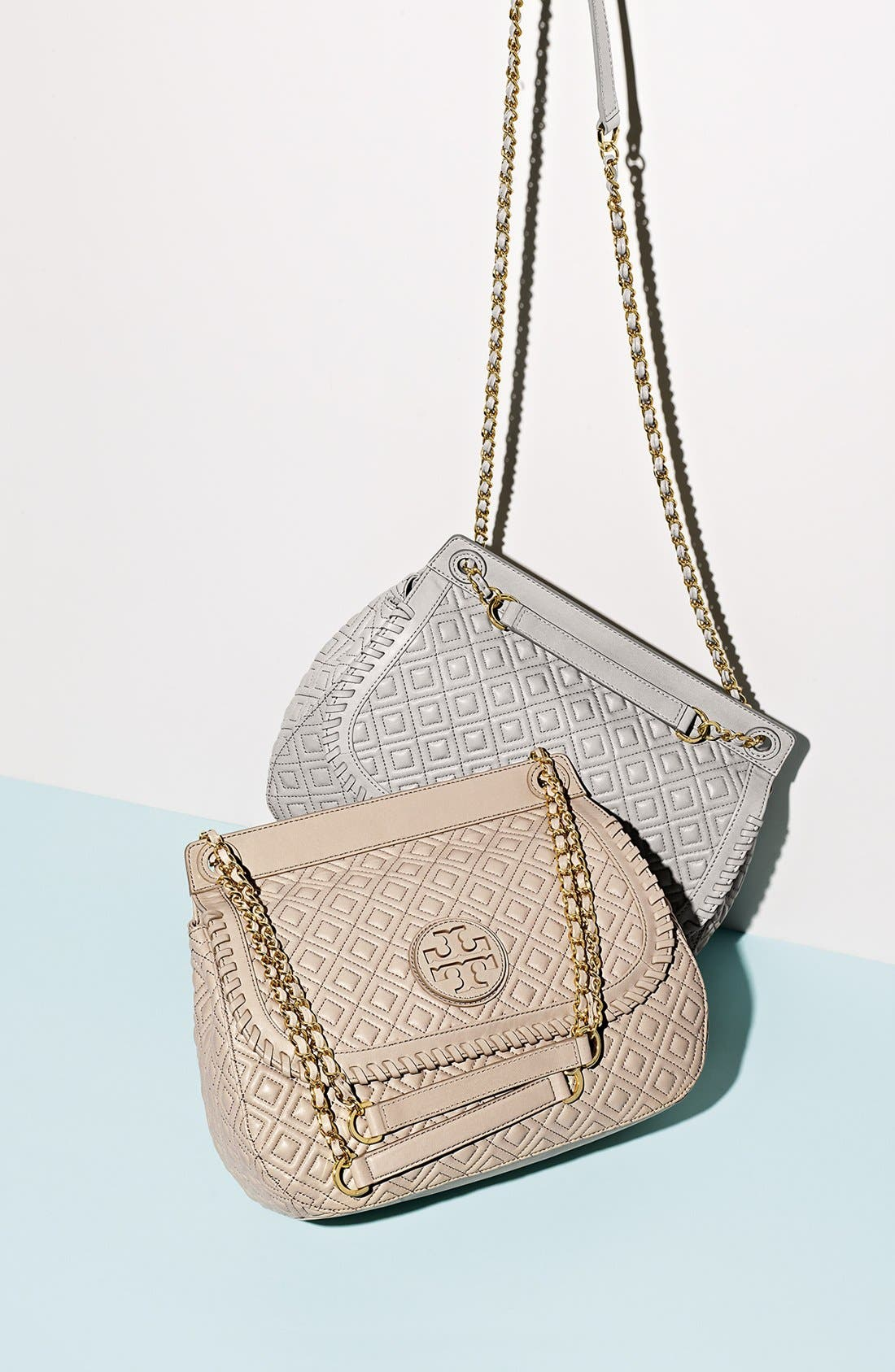 Alternate Image 5  - Tory Burch 'Marion' Quilted Convertible Shoulder Bag