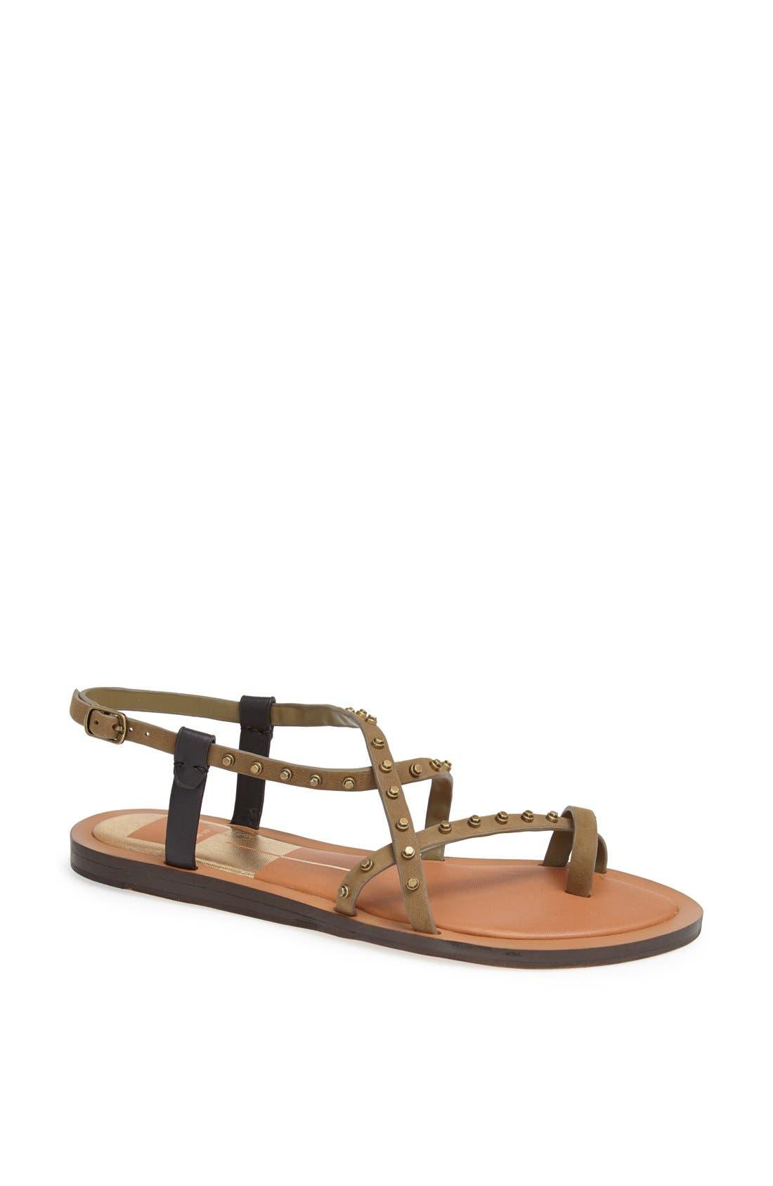 Main Image - Dolce Vita 'Flame' Studded Leather Sandal