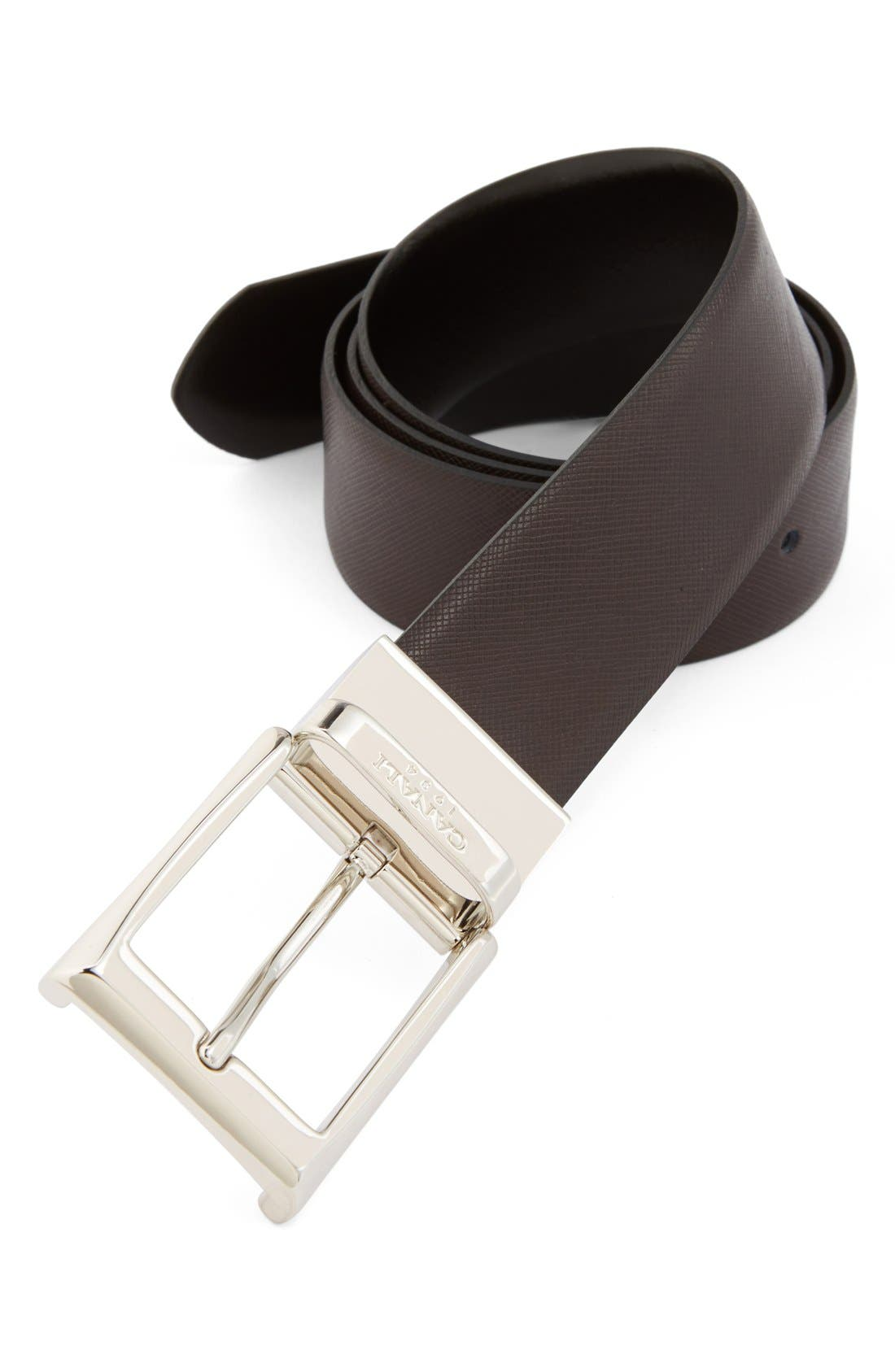 Alternate Image 1 Selected - Canali Reversible Leather Belt
