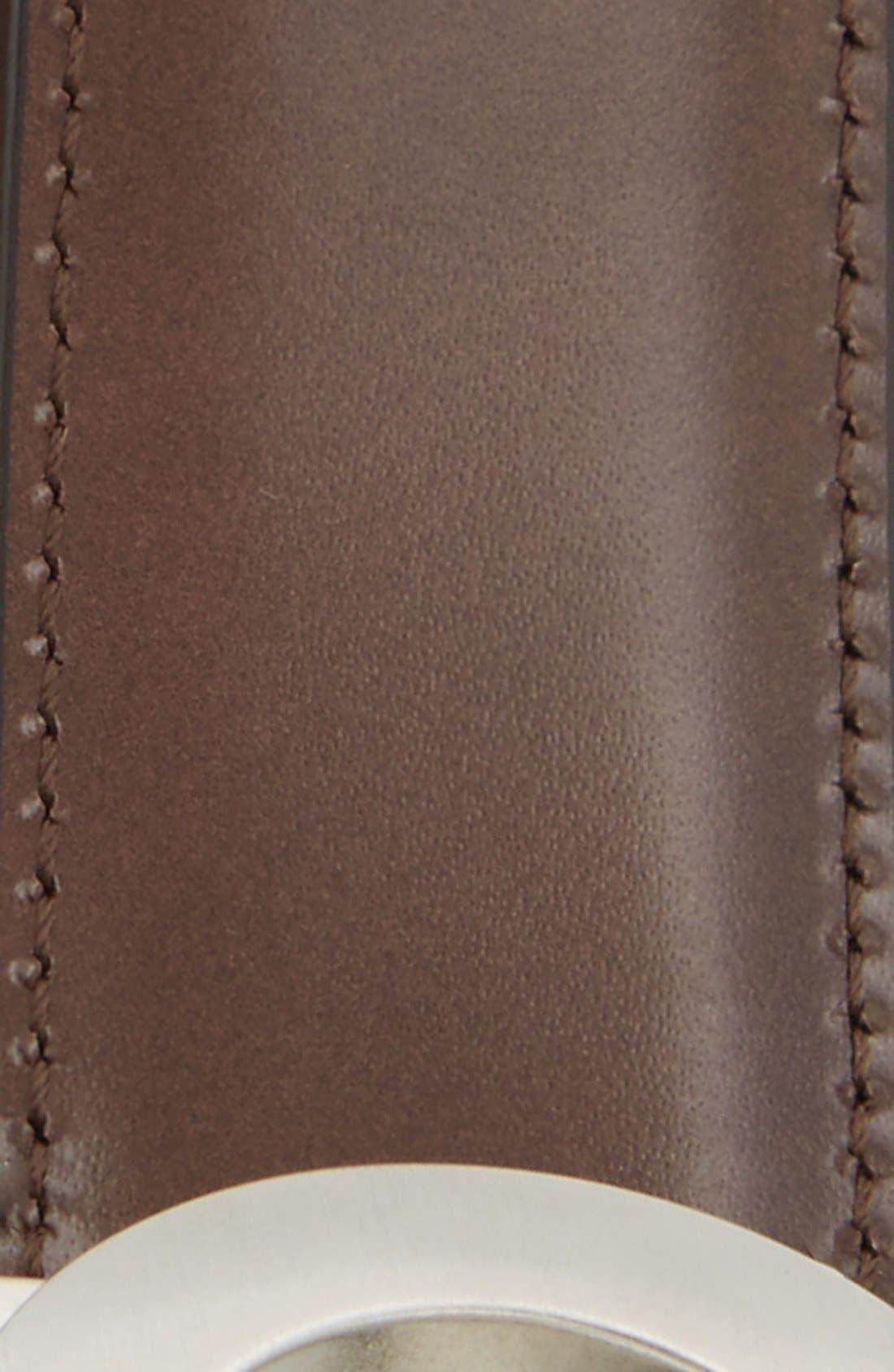 Alternate Image 4  - Salvatore Ferragamo Double Gancio Reversible Leather Belt