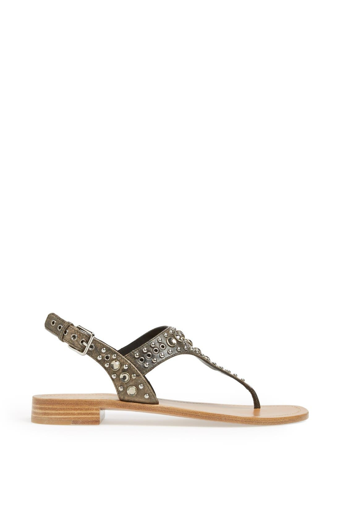 Alternate Image 4  - Prada Studded Sandal