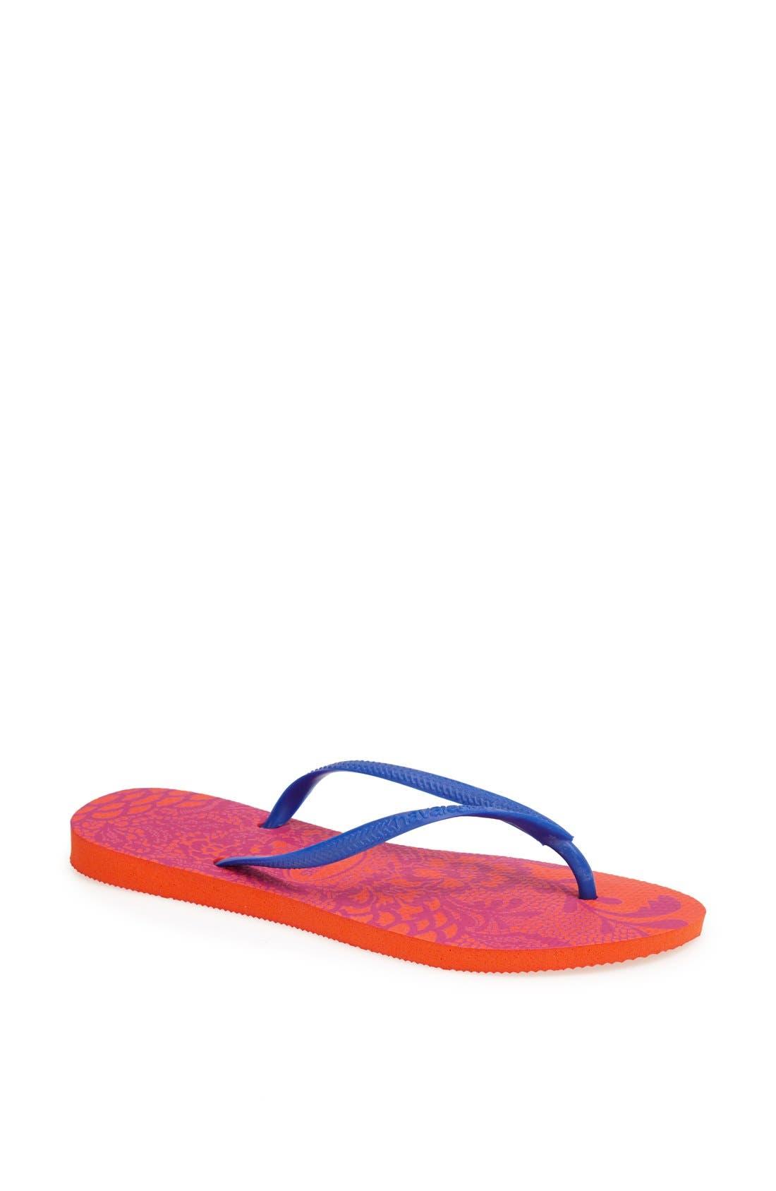Main Image - Havaianas 'Slim Lace' Flip Flop (Women)