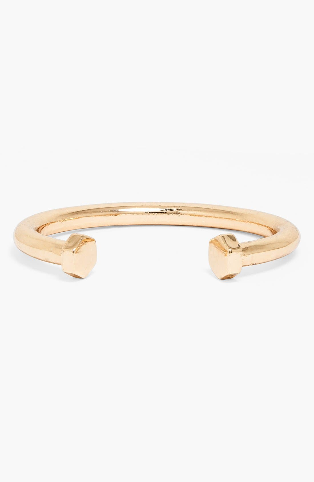 'Phillips' Skinny Cuff,                             Main thumbnail 1, color,                             Gold