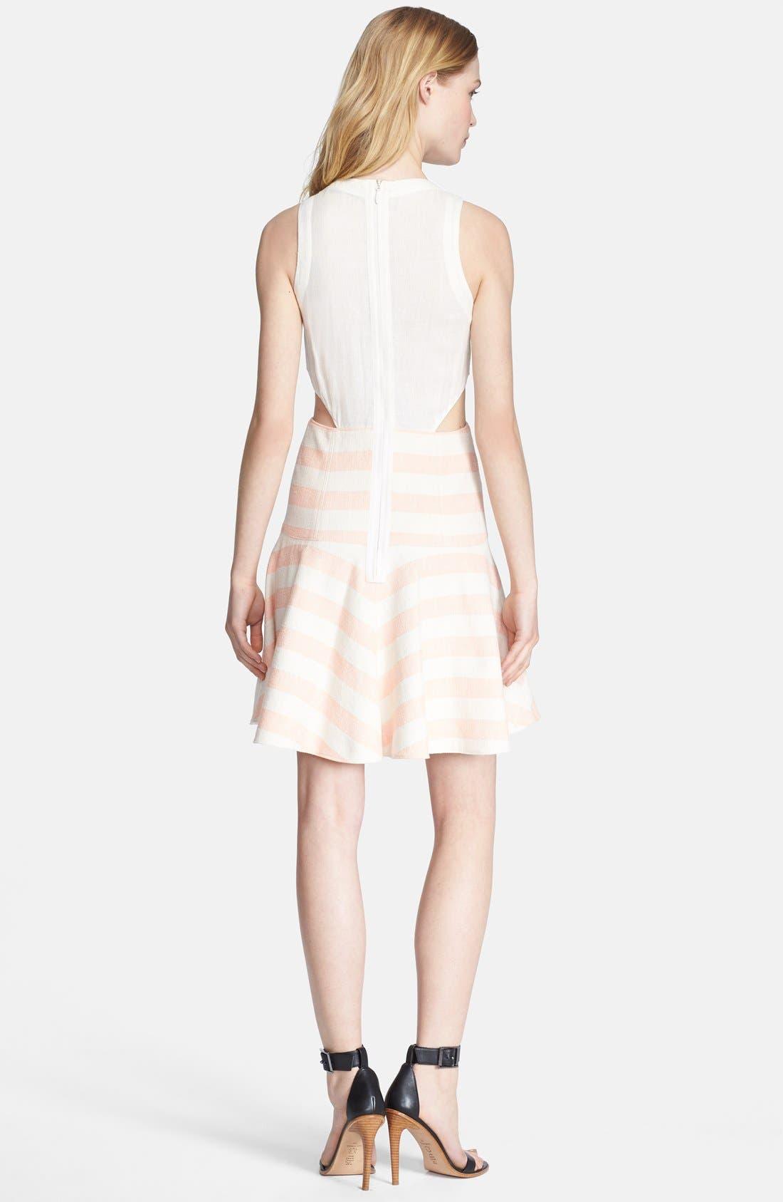 Alternate Image 2  - Tibi Woven Fit & Flare Dress