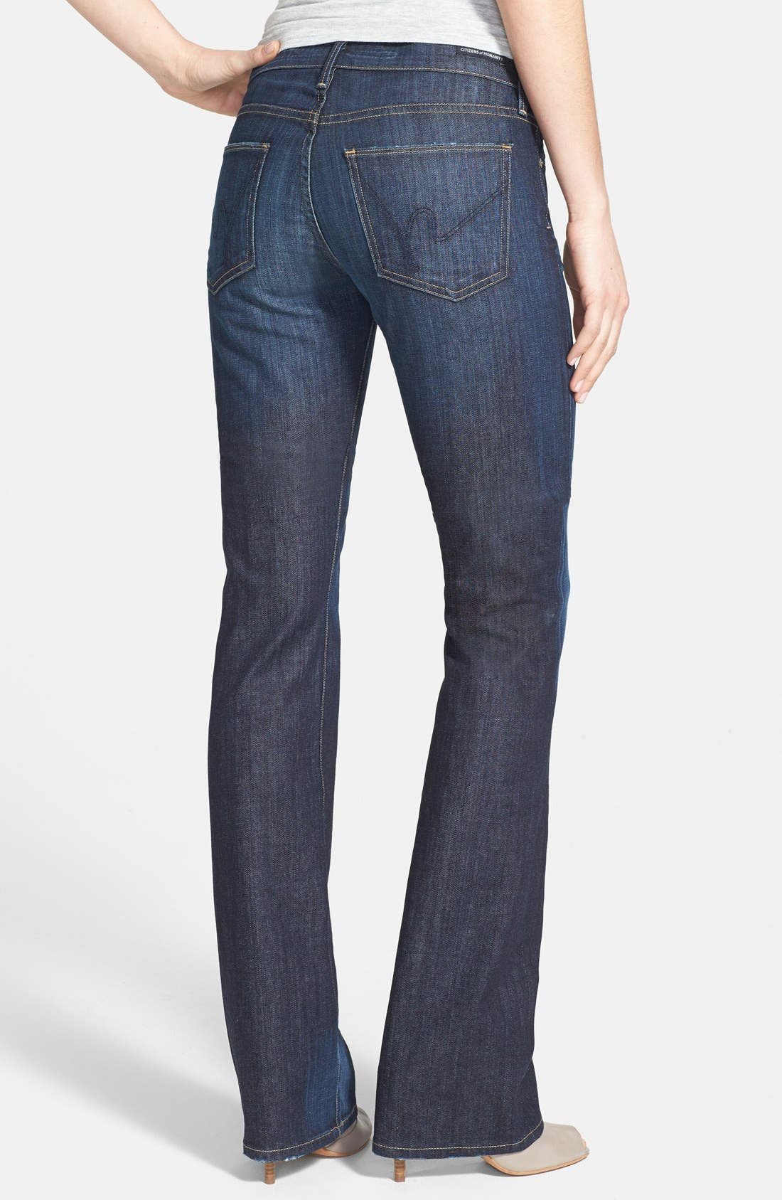 Alternate Image 2  - Citizens of Humanity 'Kelly' Bootcut Stretch Jeans (New Pacific)