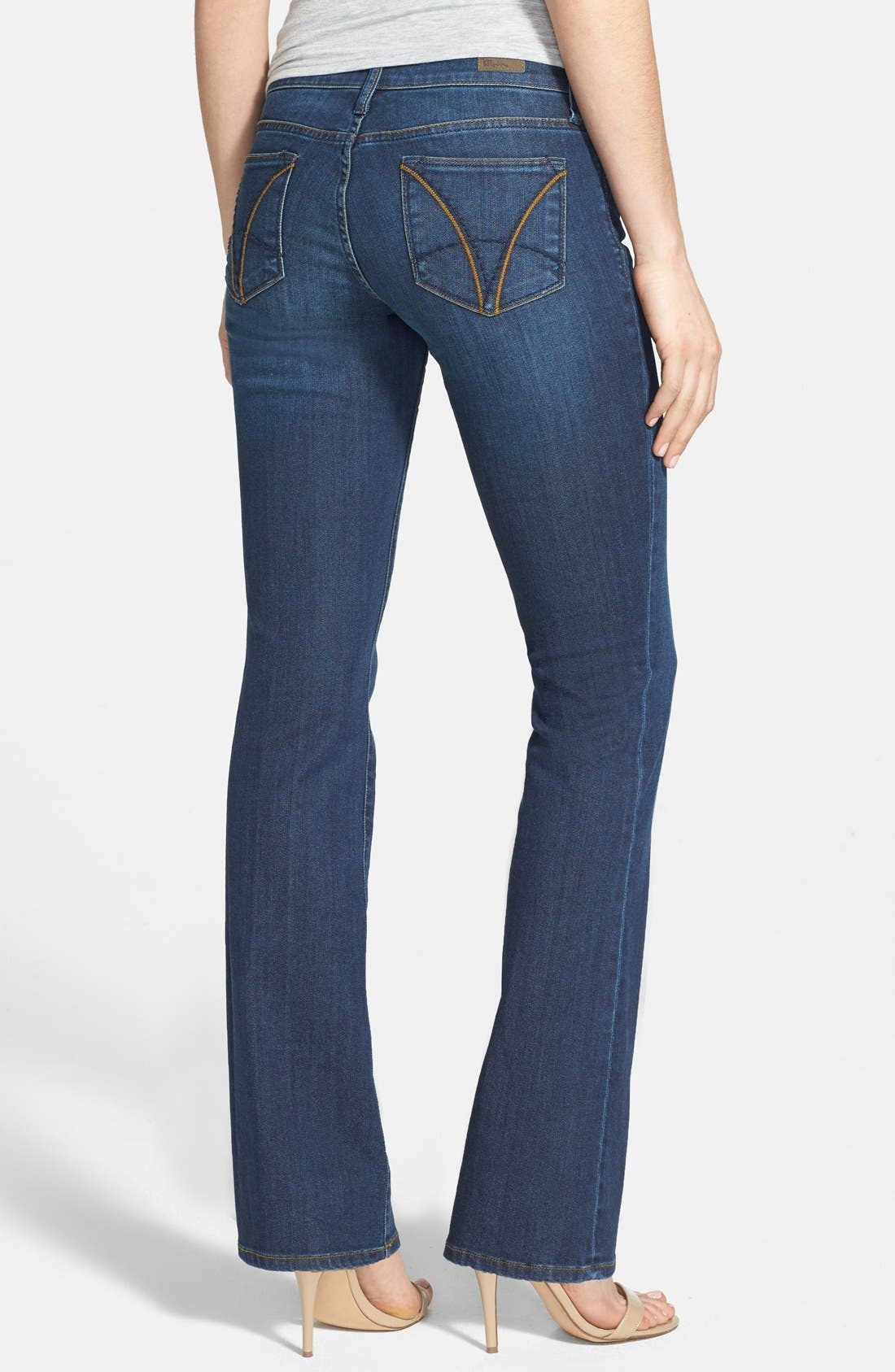 Alternate Image 2  - KUT from the Kloth 'Farrah' Baby Bootcut Jeans (Whim) (Short)