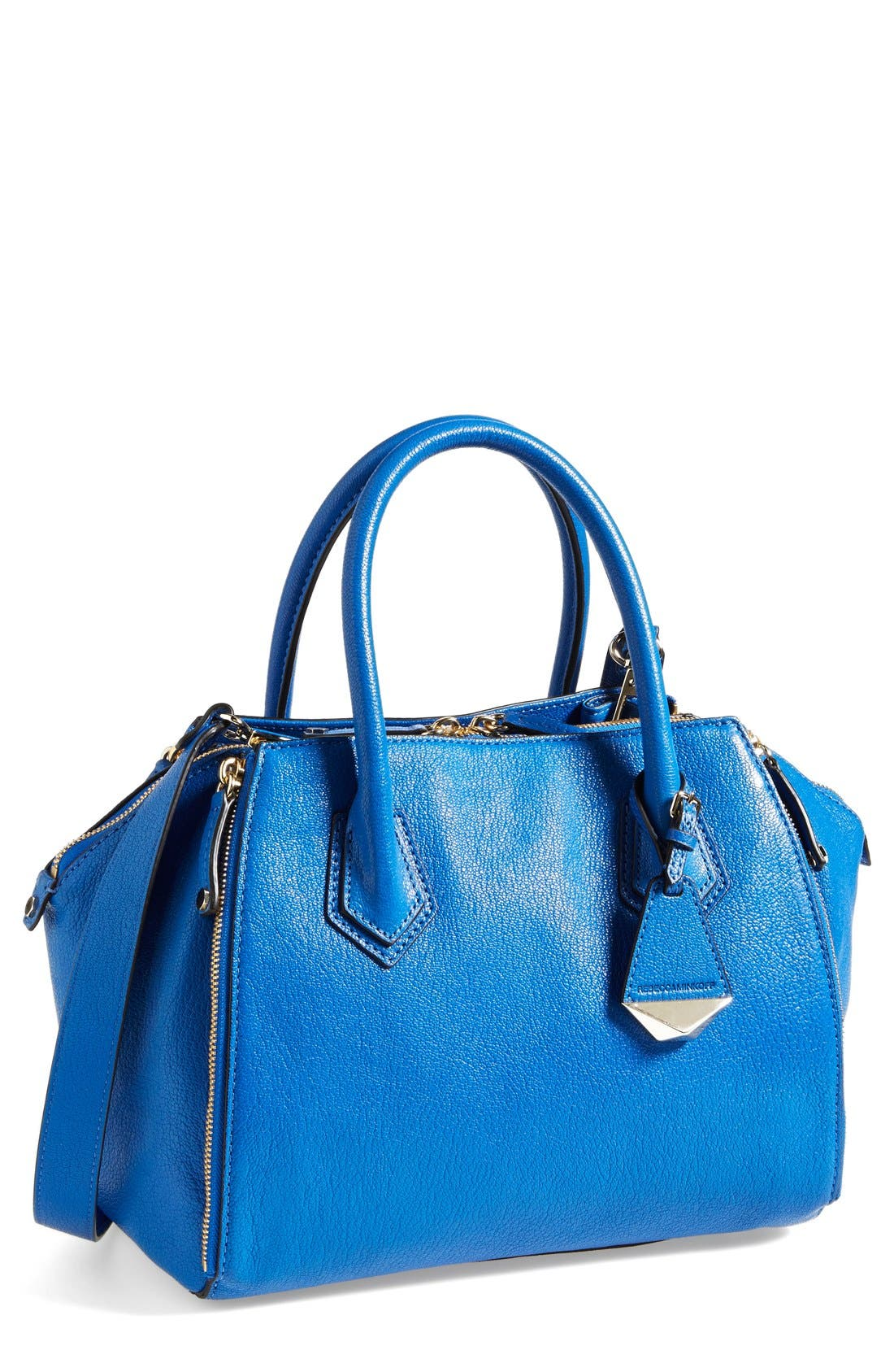 'Mini Perry' Satchel,                         Main,                         color, Bright Blue