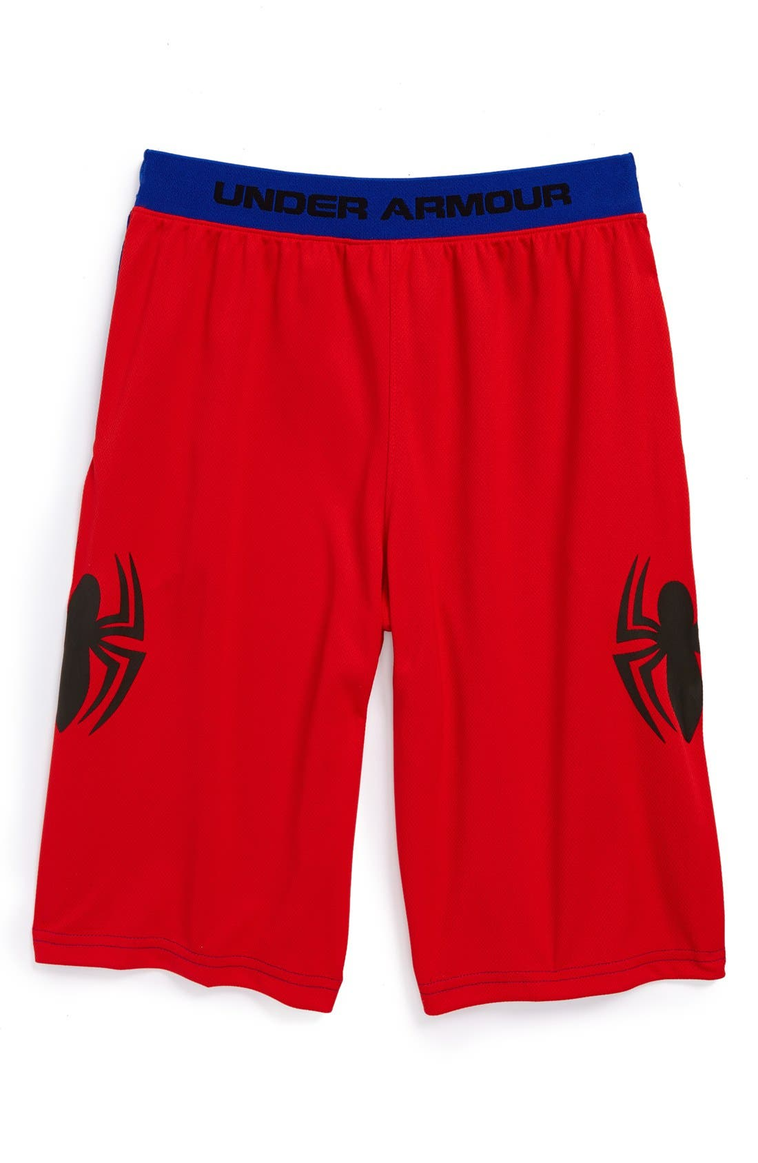 Main Image - Under Armour 'Alter Ego - Spiderman' Shorts (Little Boys & Big Boys)