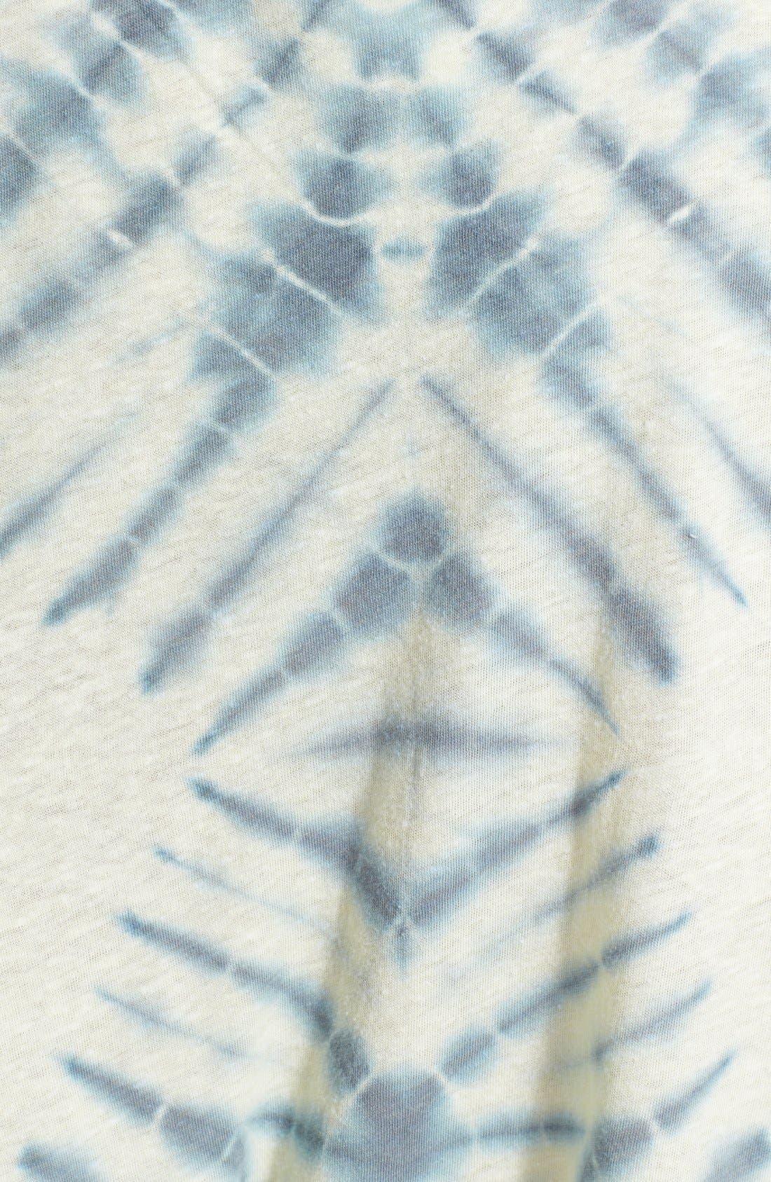 Alternate Image 3  - Free People 'Sundown' Tie Dye Cotton Blend Top
