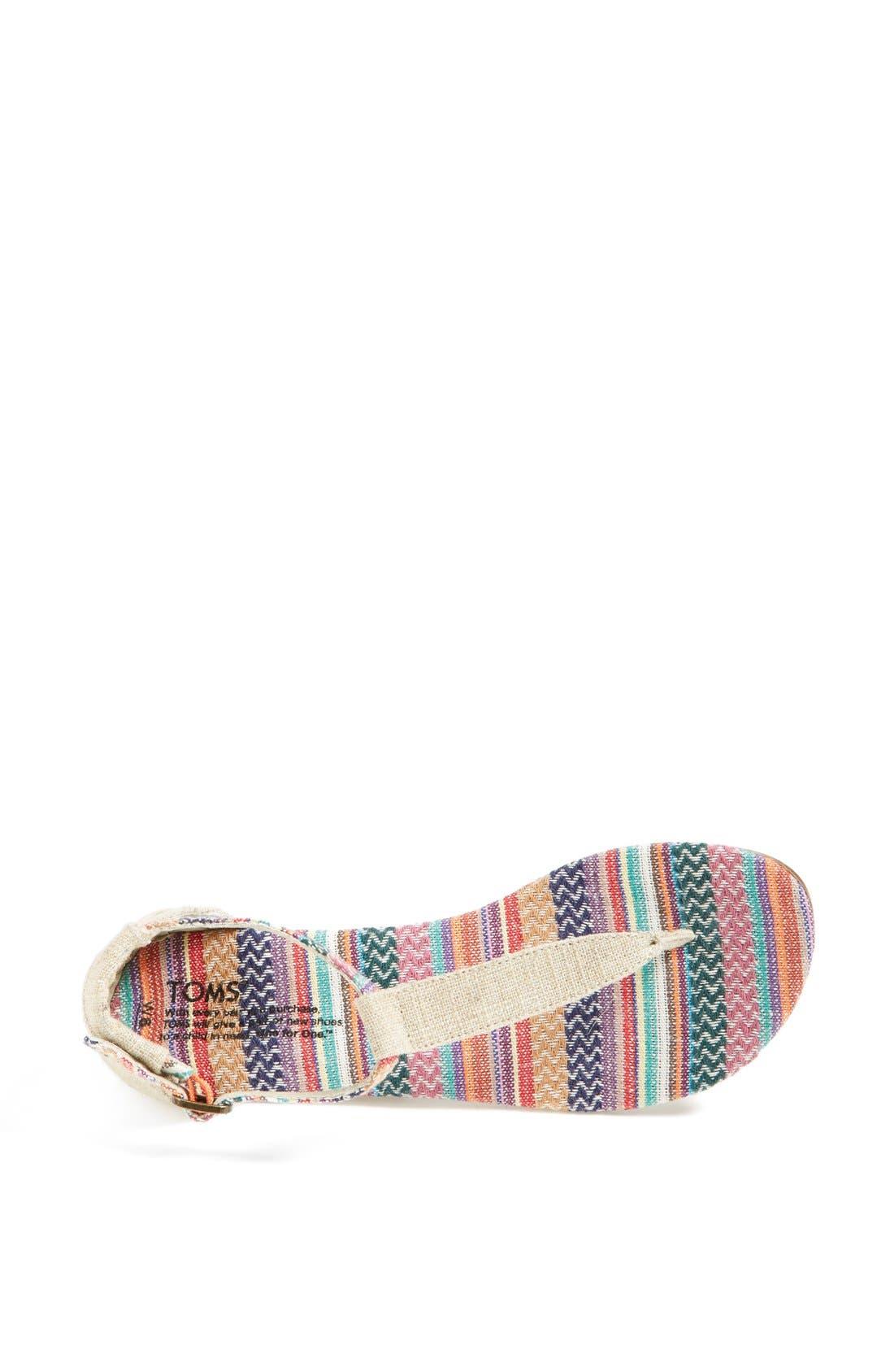 Alternate Image 3  - TOMS 'Playa' Thong Sandal (Women)