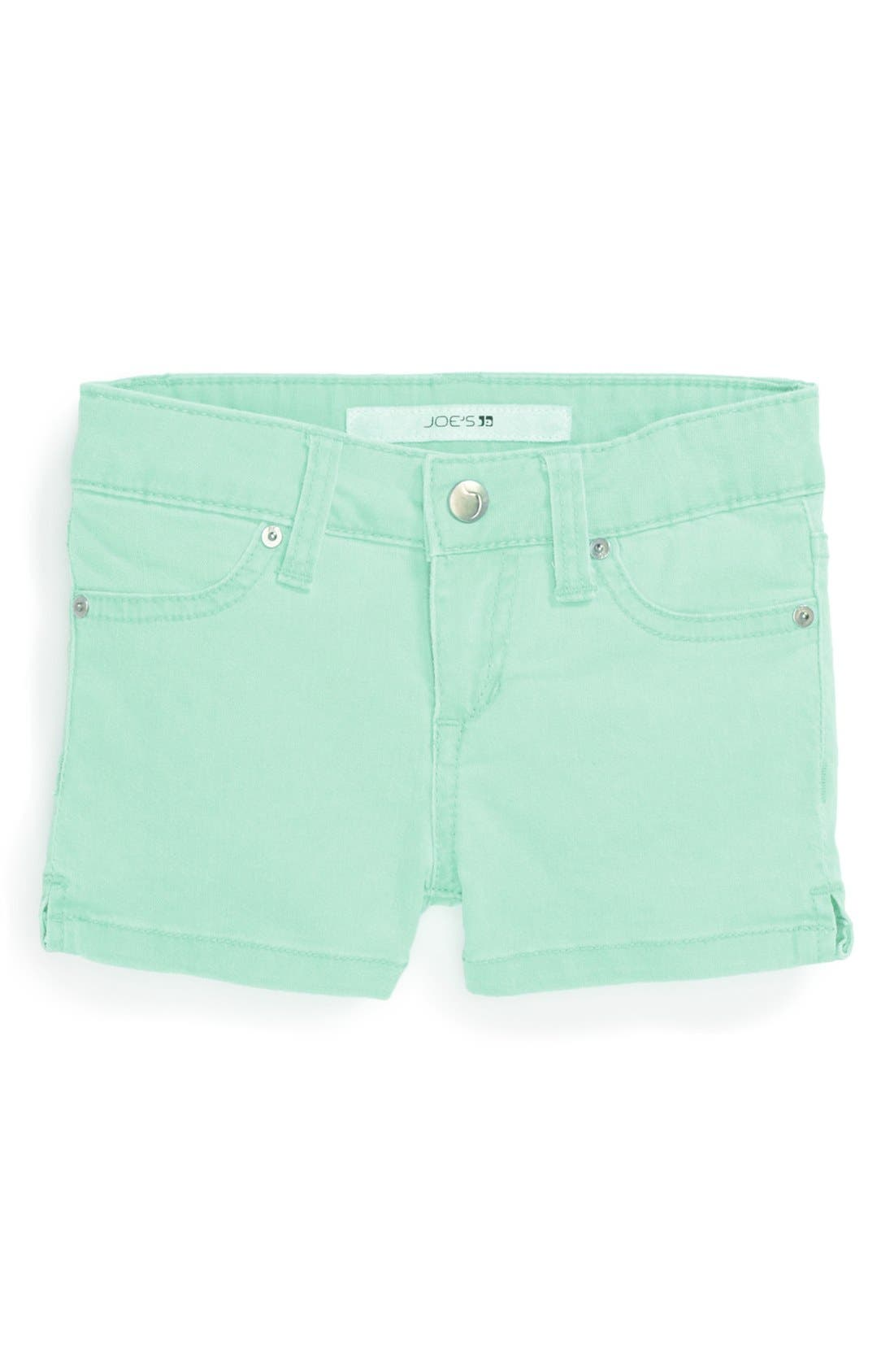 Alternate Image 2  - Joe's Neon Shorts (Toddler Girls)