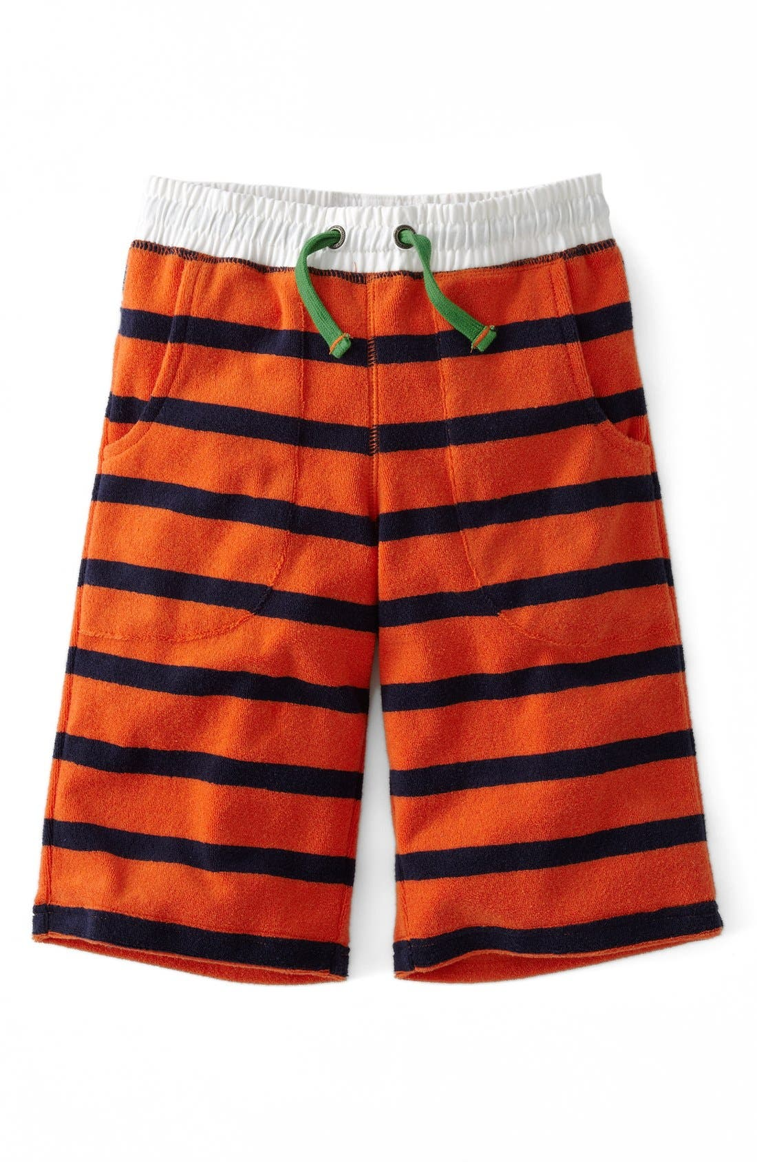 Main Image - Mini Boden Towelling Shorts (Toddler Boys, Little Boys & Big Boys)