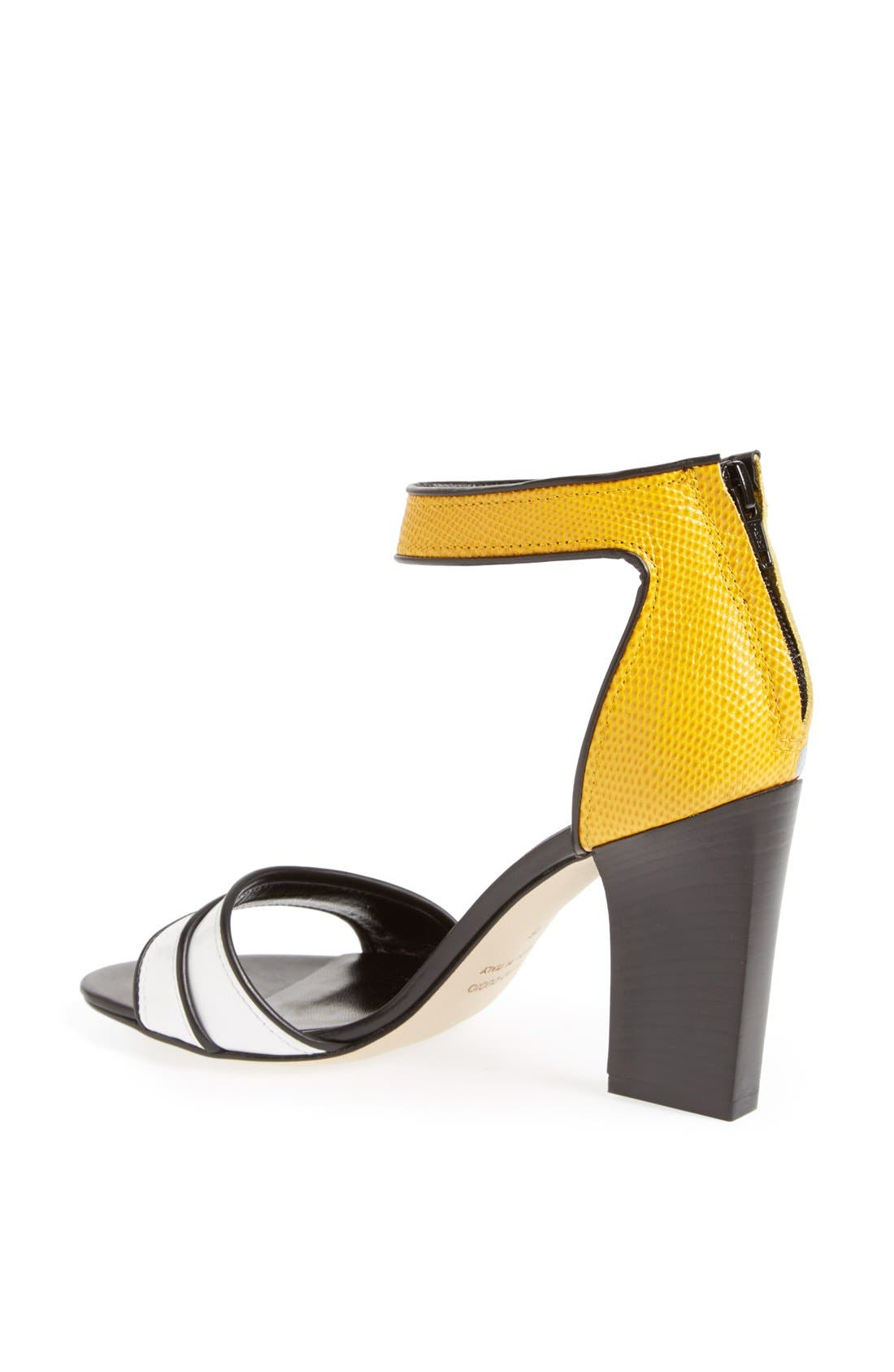 Alternate Image 2  - Moero Snake Embossed Leather Sandal