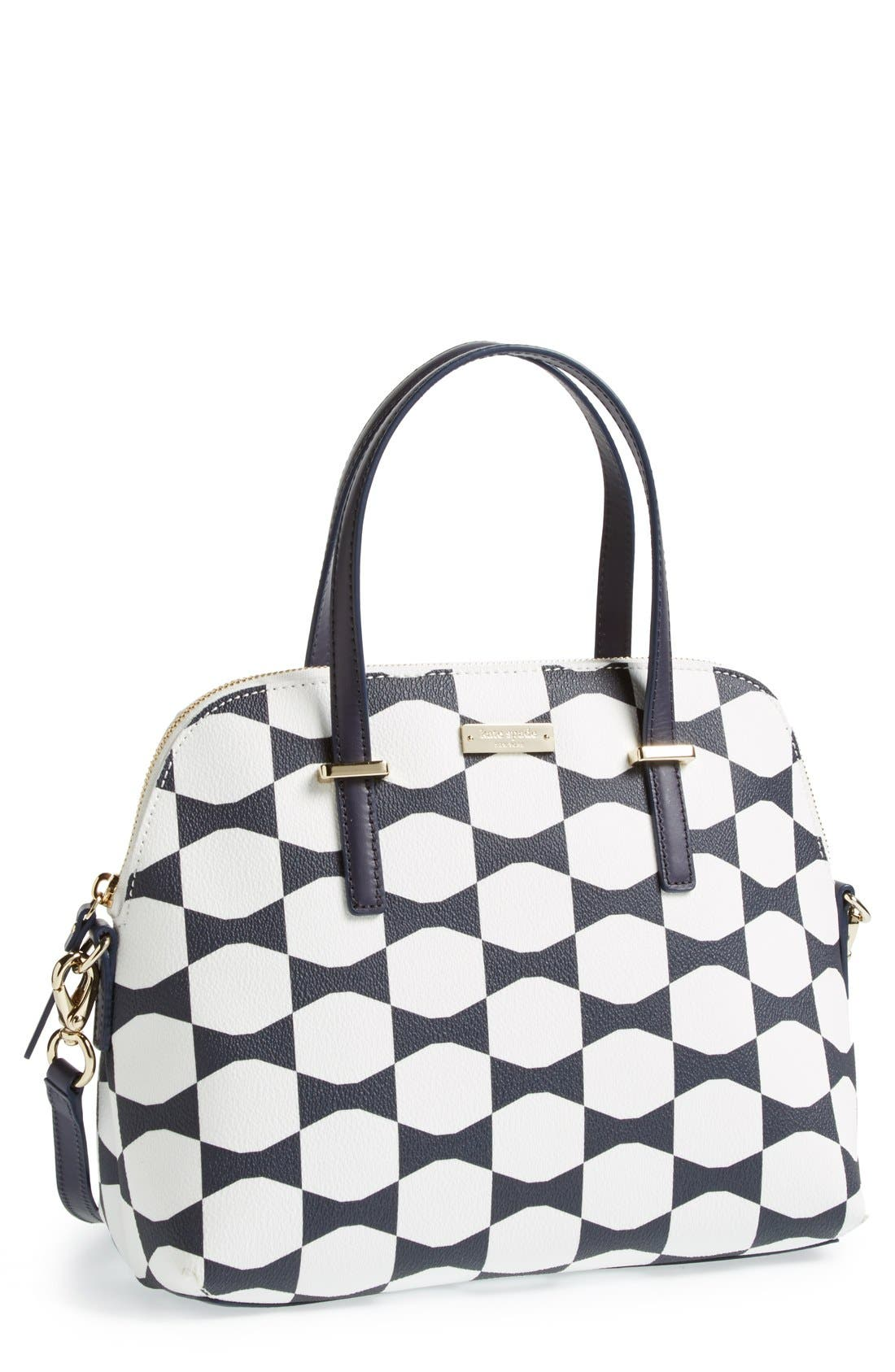 Alternate Image 1 Selected - kate spade new york 'maise - bow tile' satchel