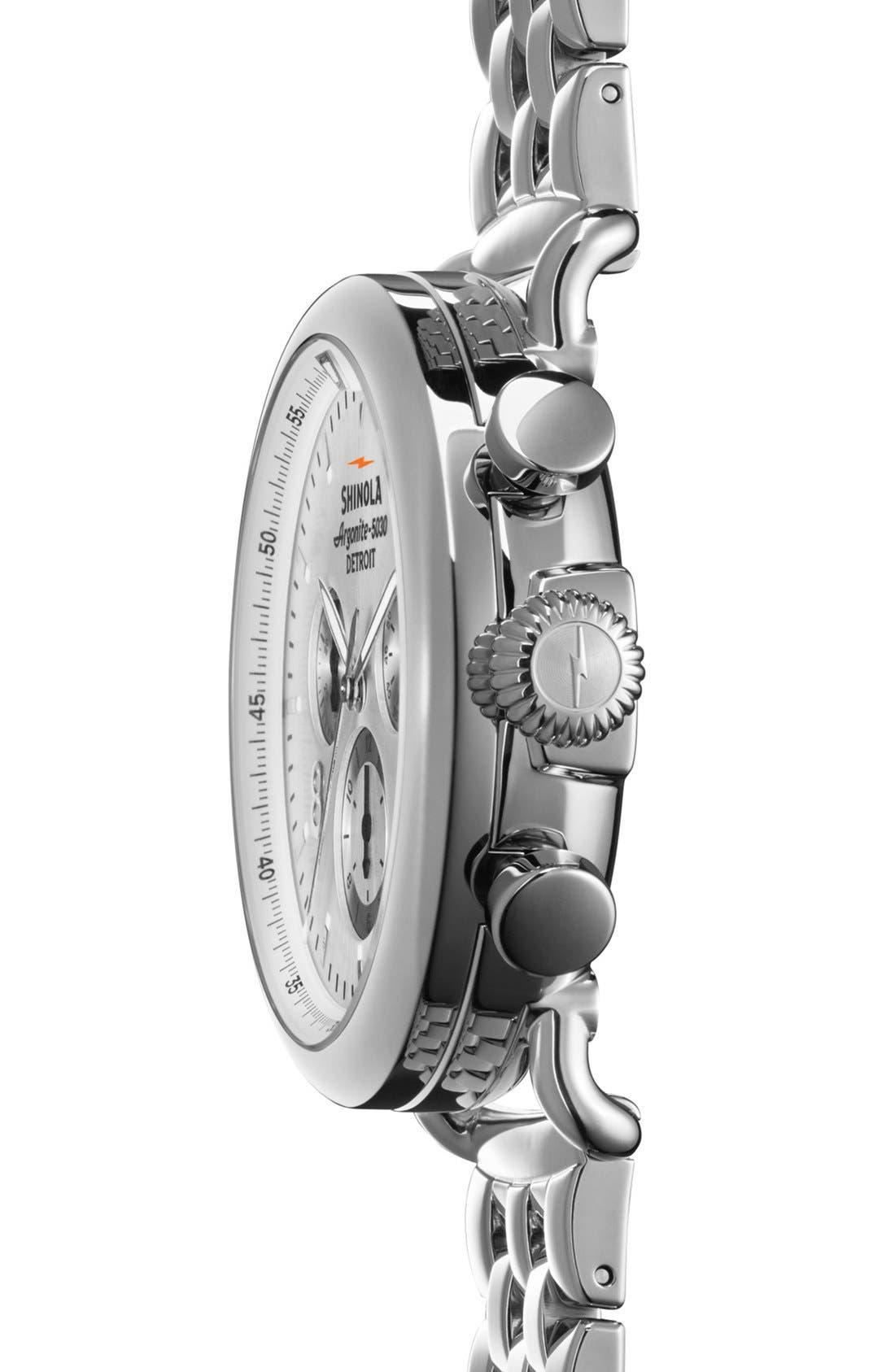 Alternate Image 3  - Shinola 'The Runwell Contrast Chrono' Bracelet Watch, 41mm
