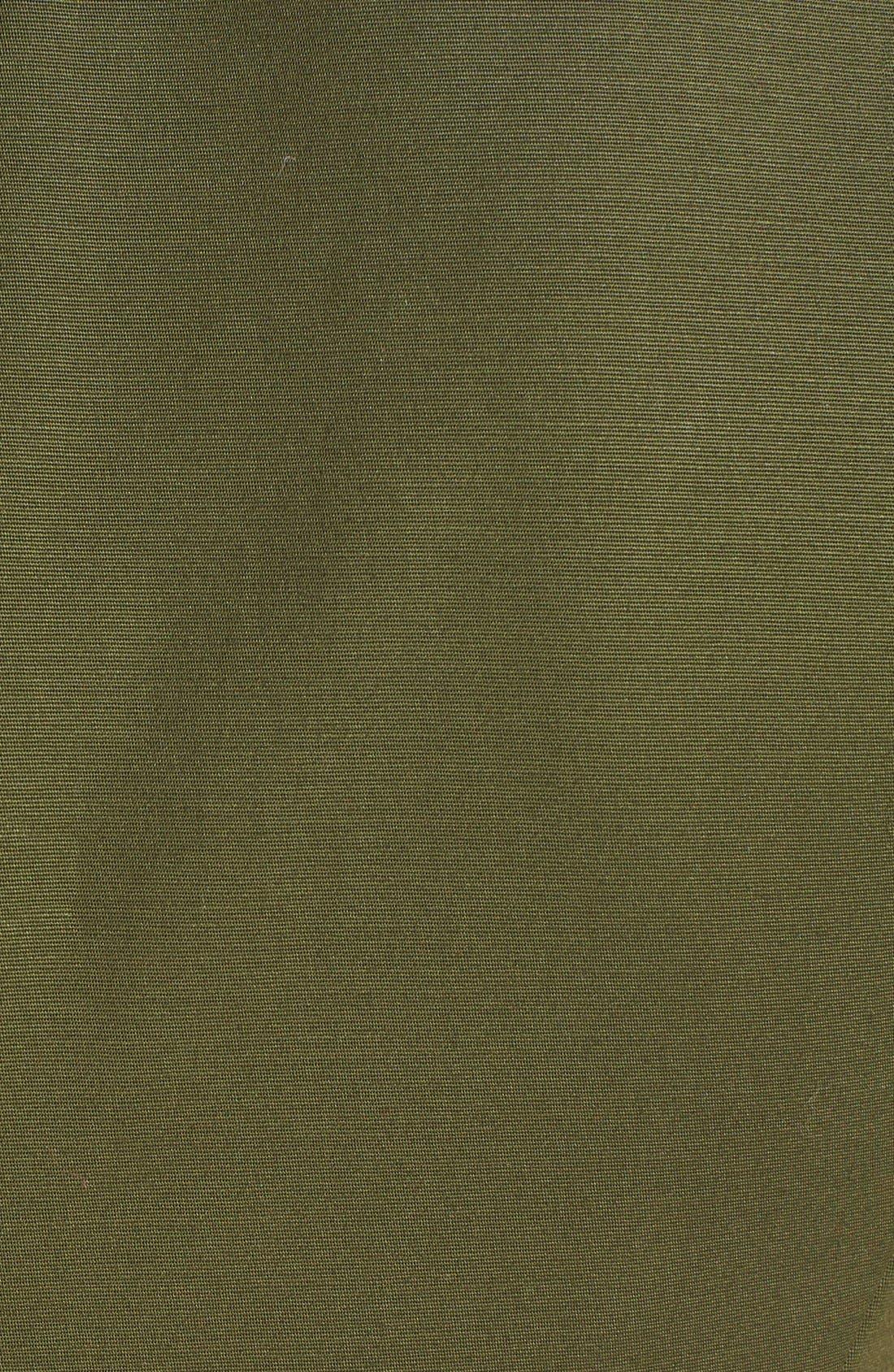 Alternate Image 3  - kate spade new york peplum stretch cotton sheath dress
