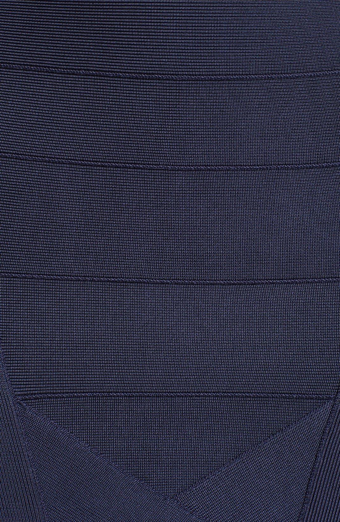 Alternate Image 3  - Herve Leger V-Neck Bandage Dress