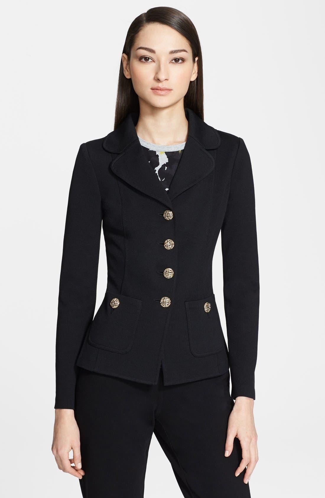 Main Image - St. John Collection Milano Knit Jacket