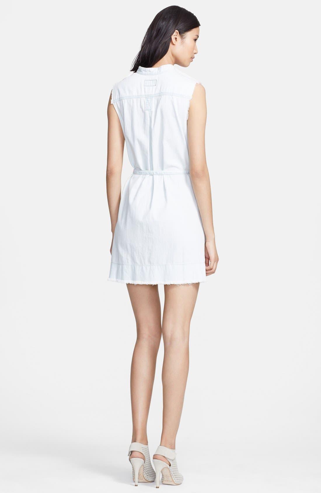 Alternate Image 2  - Current/Elliott 'The Craftsman Smock' Cotton Dress