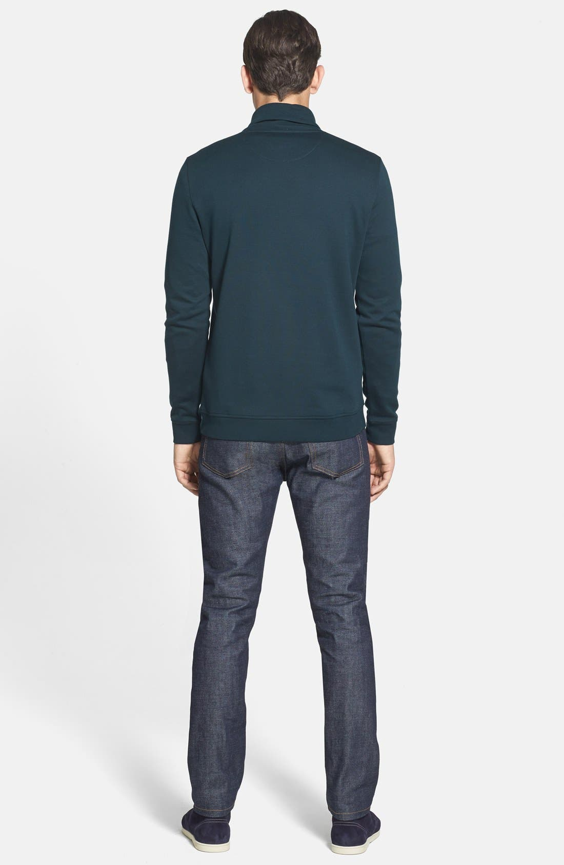 Alternate Image 5  - Ted Baker London 'SFINX' Shawl Collar Jersey Pullover