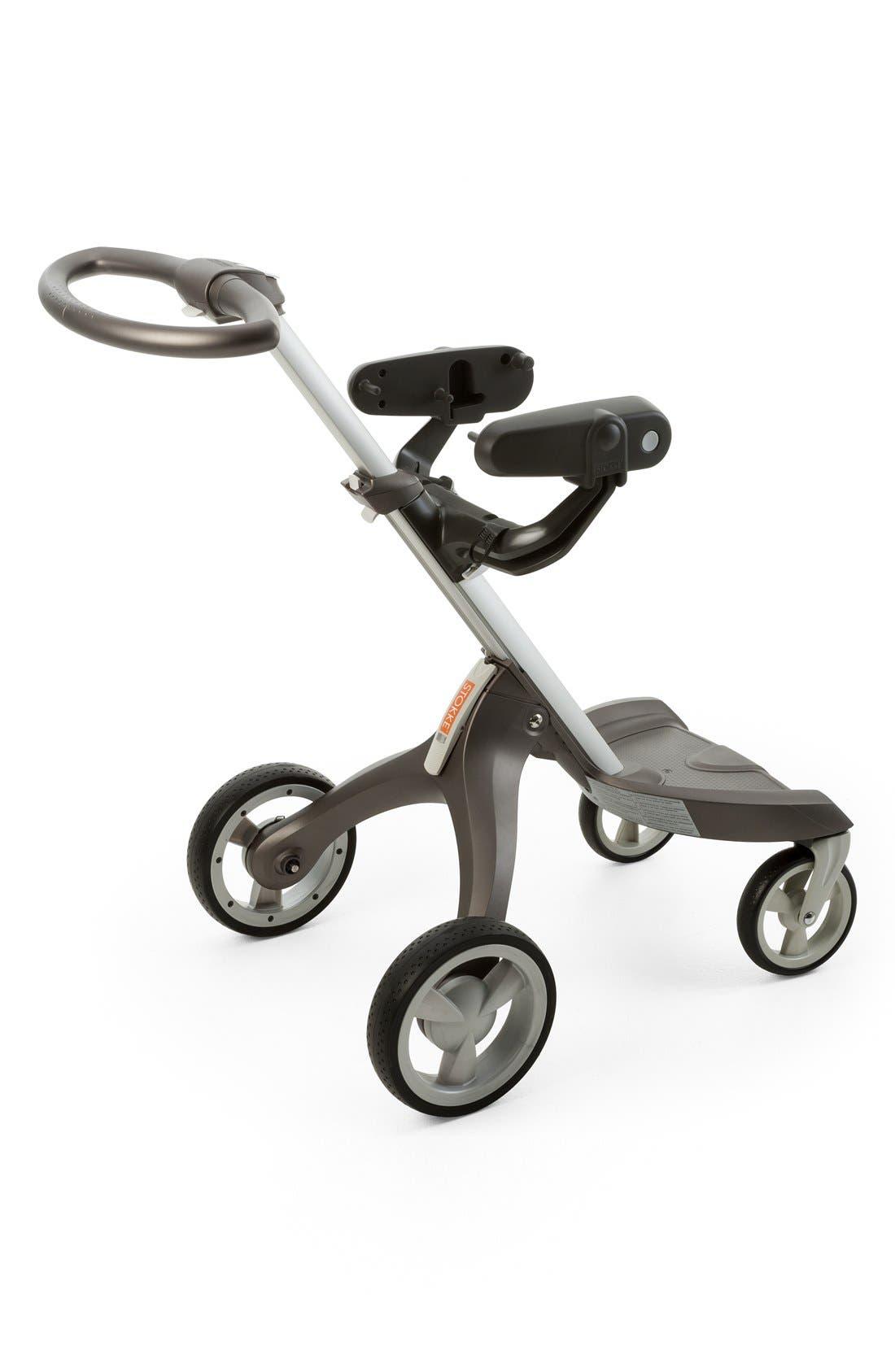 Peg Perego Car Seat Adaptor for Stokke Strollers,                             Alternate thumbnail 2, color,                             Dark Grey