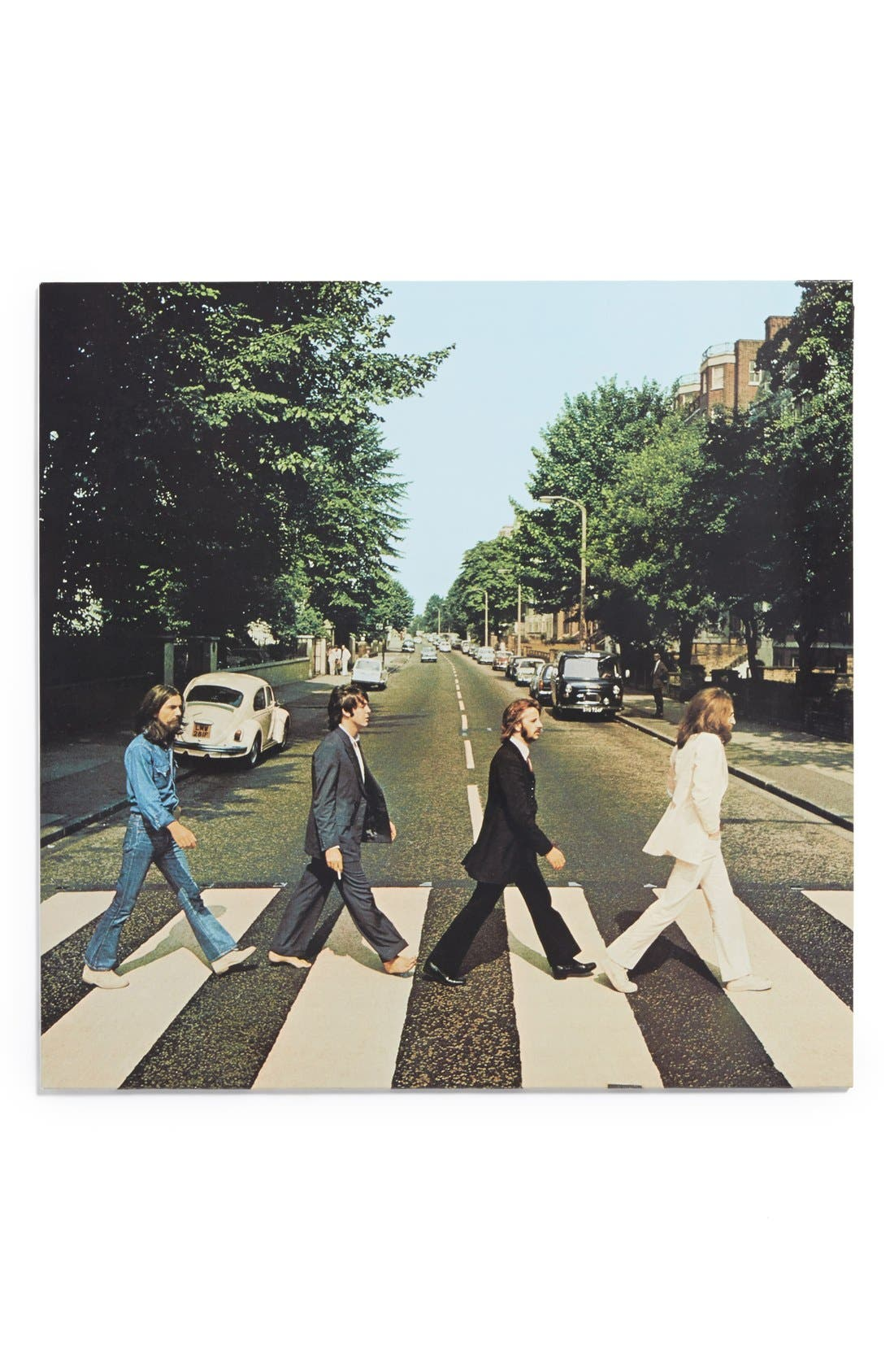 The Beatles 'Abbey Road' LP Vinyl Record,                             Main thumbnail 1, color,                             Blue