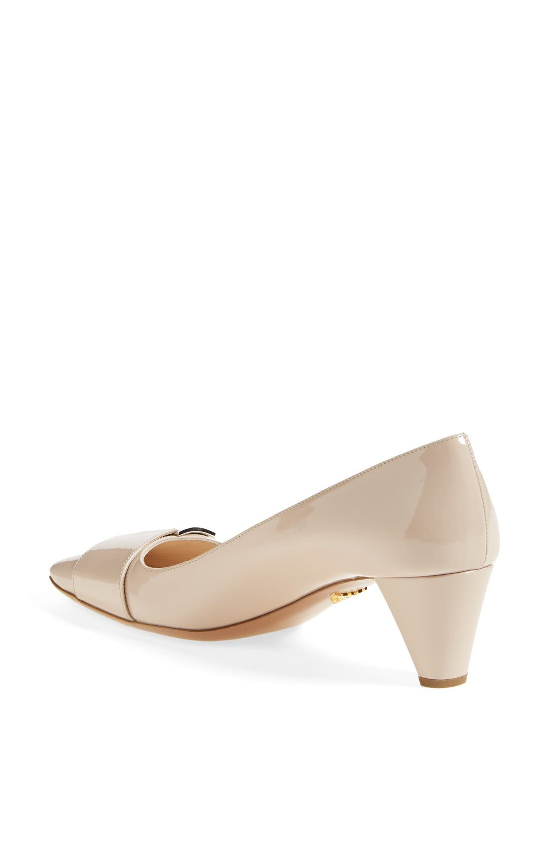 Alternate Image 2  - Prada Buckle Pump