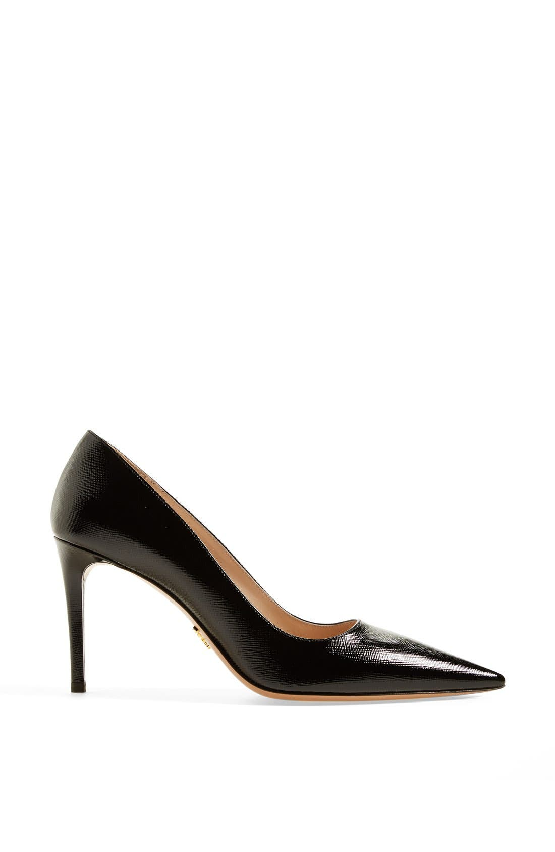 Alternate Image 4  - Prada Pointy Toe Pump (Women)