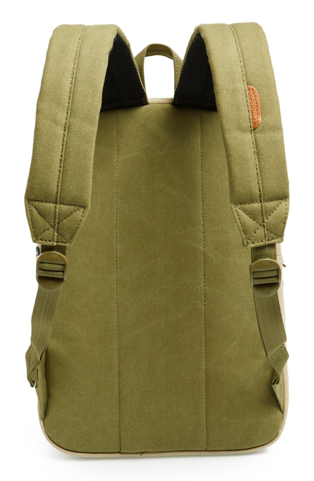 Alternate Image 4  - Herschel Supply Co. 'Settlement Mid-Volume' Canvas Laptop Backpack (13 Inch)