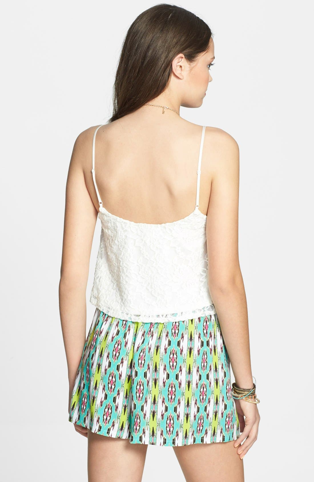Alternate Image 2  - Lily White Woven Shorts