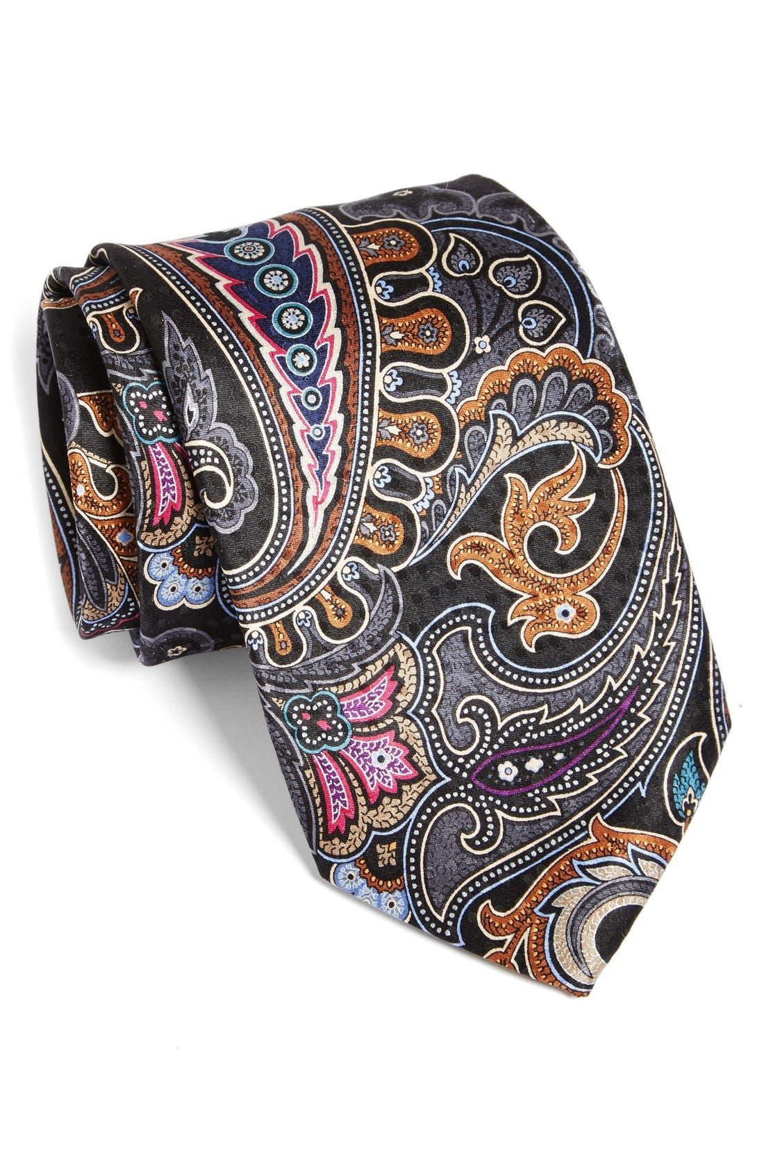 Main Image - JZ Richards Printed Silk Tie