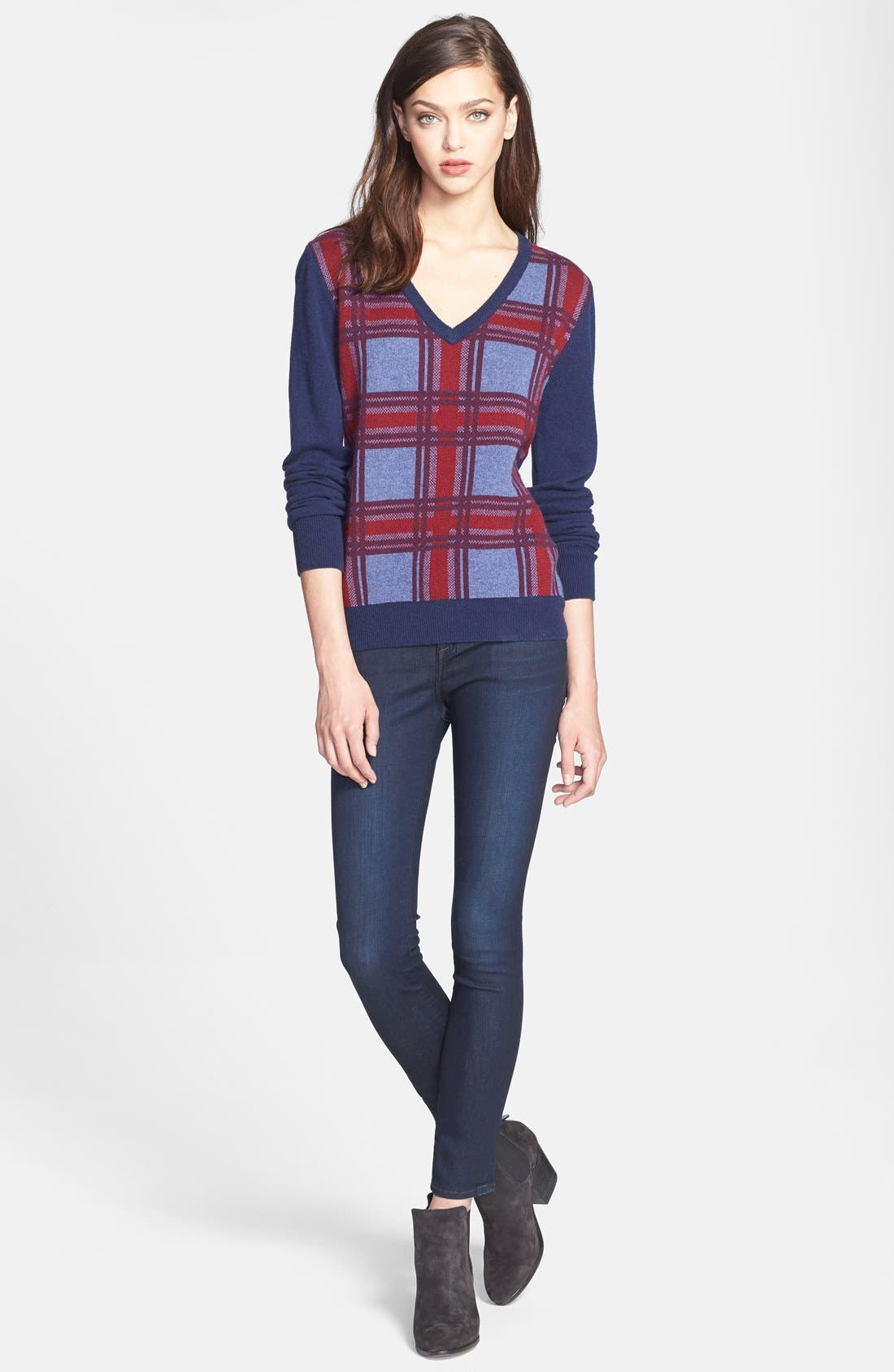 Alternate Image 5  - Joie Stretch Skinny Jeans (Everest)