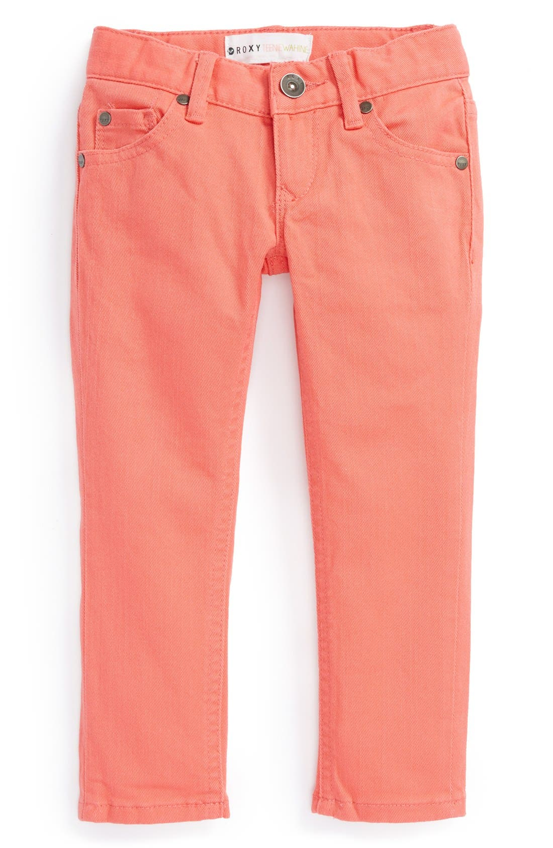 Alternate Image 2  - Roxy 'Tawana' Skinny Jeans (Toddler Girls)