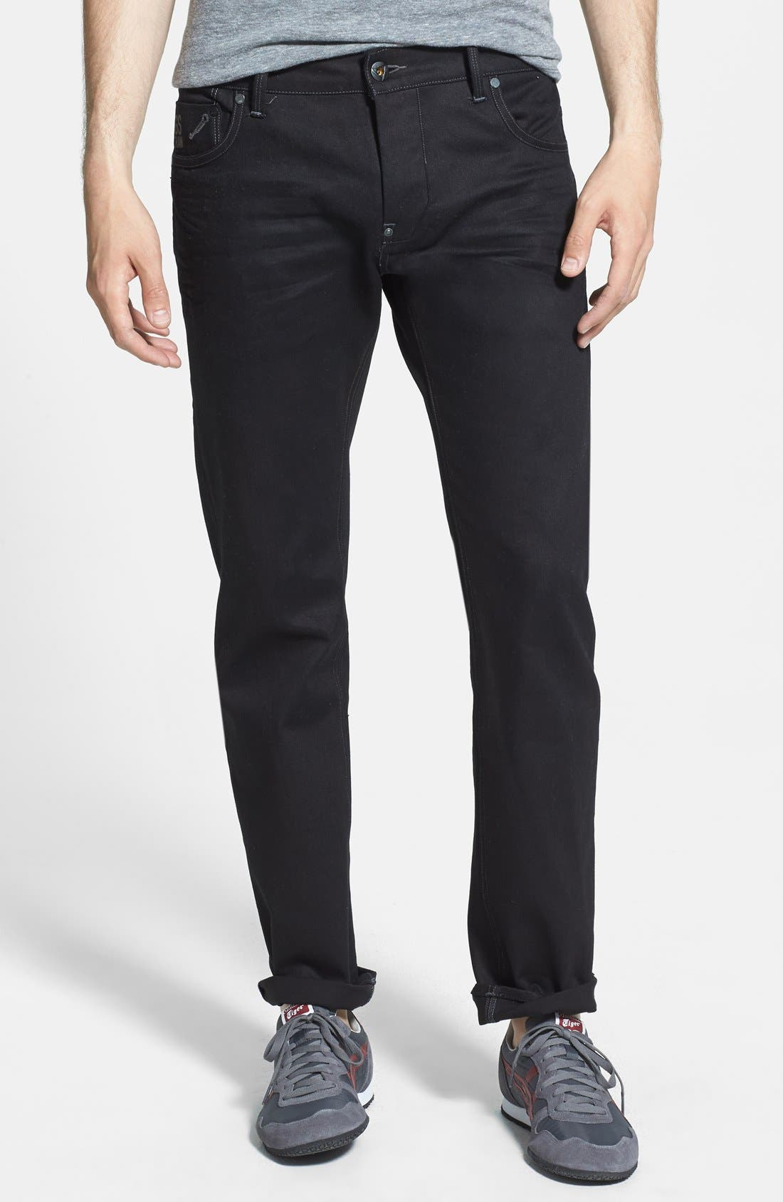 Alternate Image 1 Selected - G-Star Raw 'Defend Edington' Slouchy Slim Fit Jeans (3D Raw)