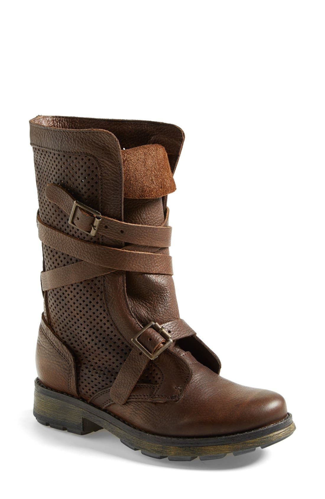 Alternate Image 1 Selected - Steve Madden 'Bosston' Leather Boot (Women)
