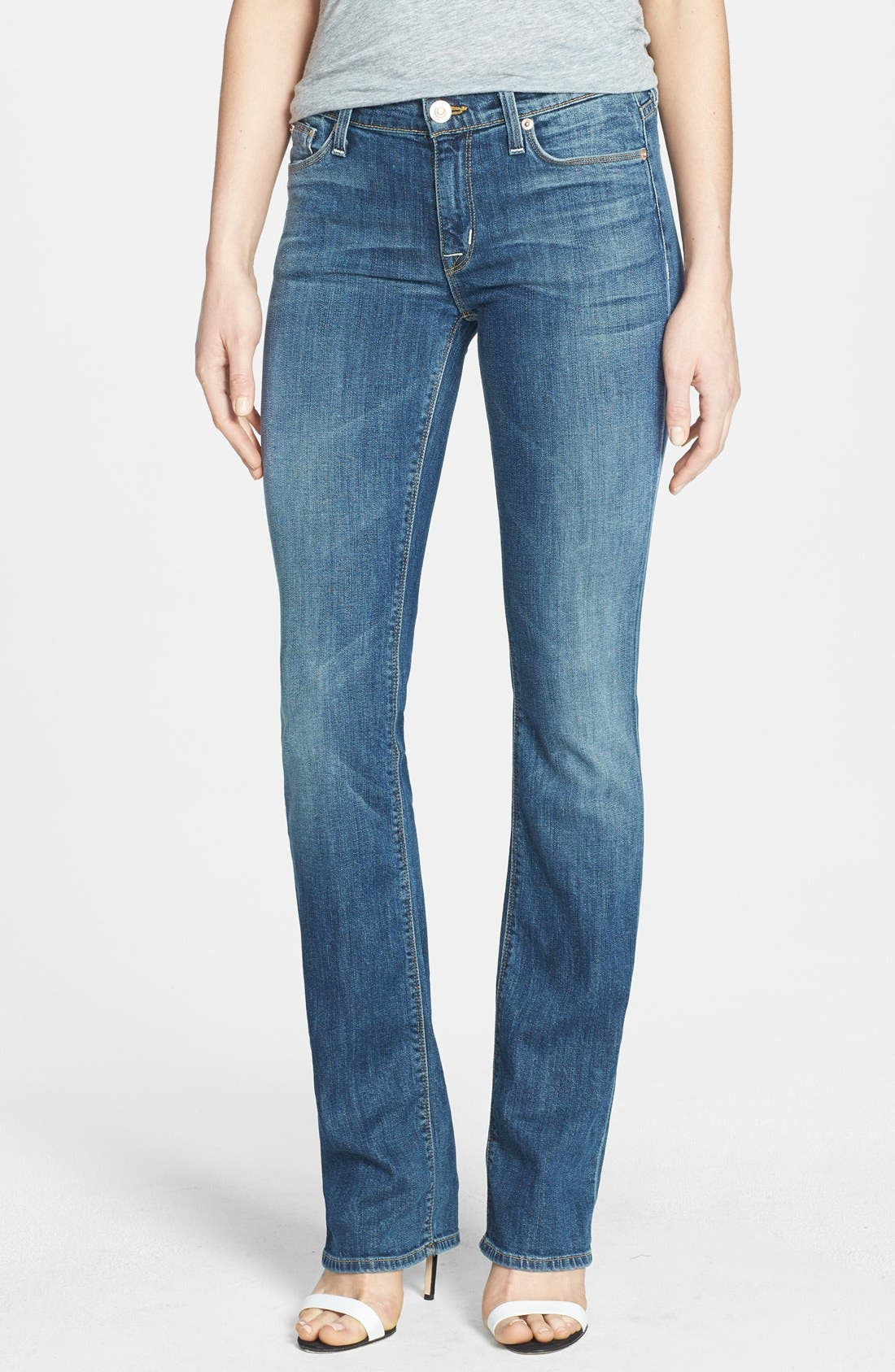 Alternate Image 1 Selected - Hudson Jeans 'Elle' Baby Bootcut Jeans (Hackney)