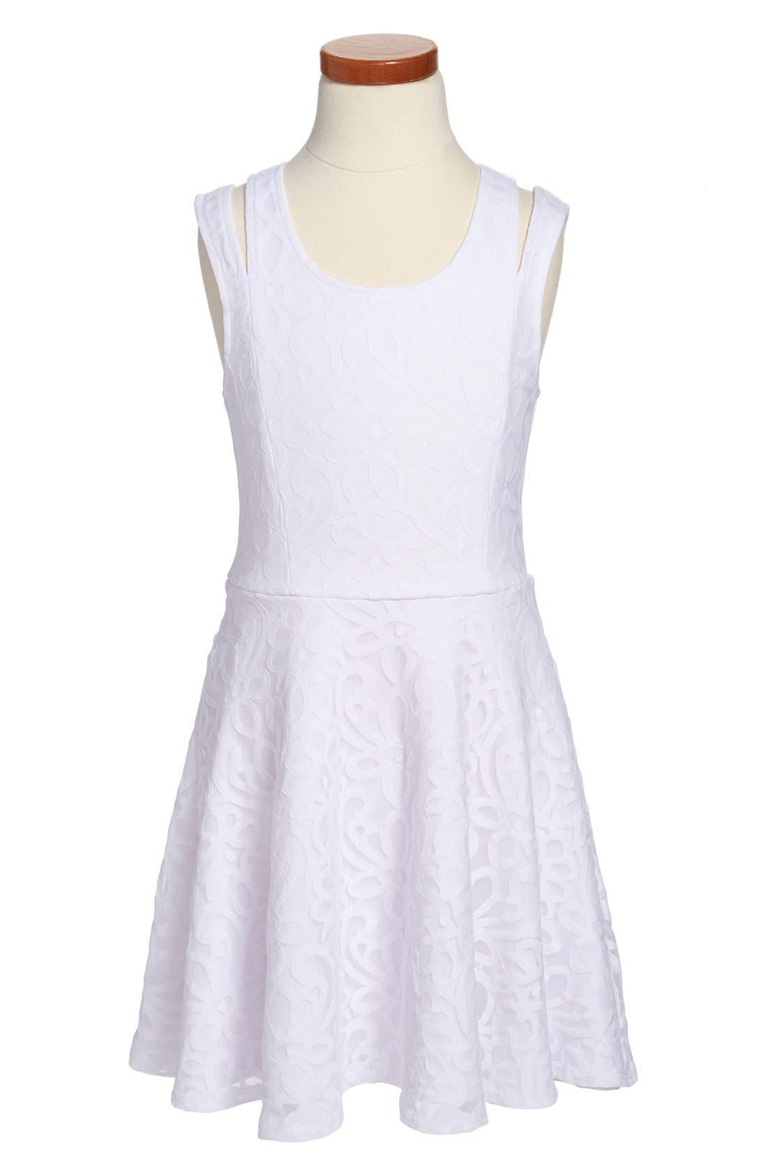Main Image - Sally Miller 'Soutache' Sleeveless Dress (Big Girls)