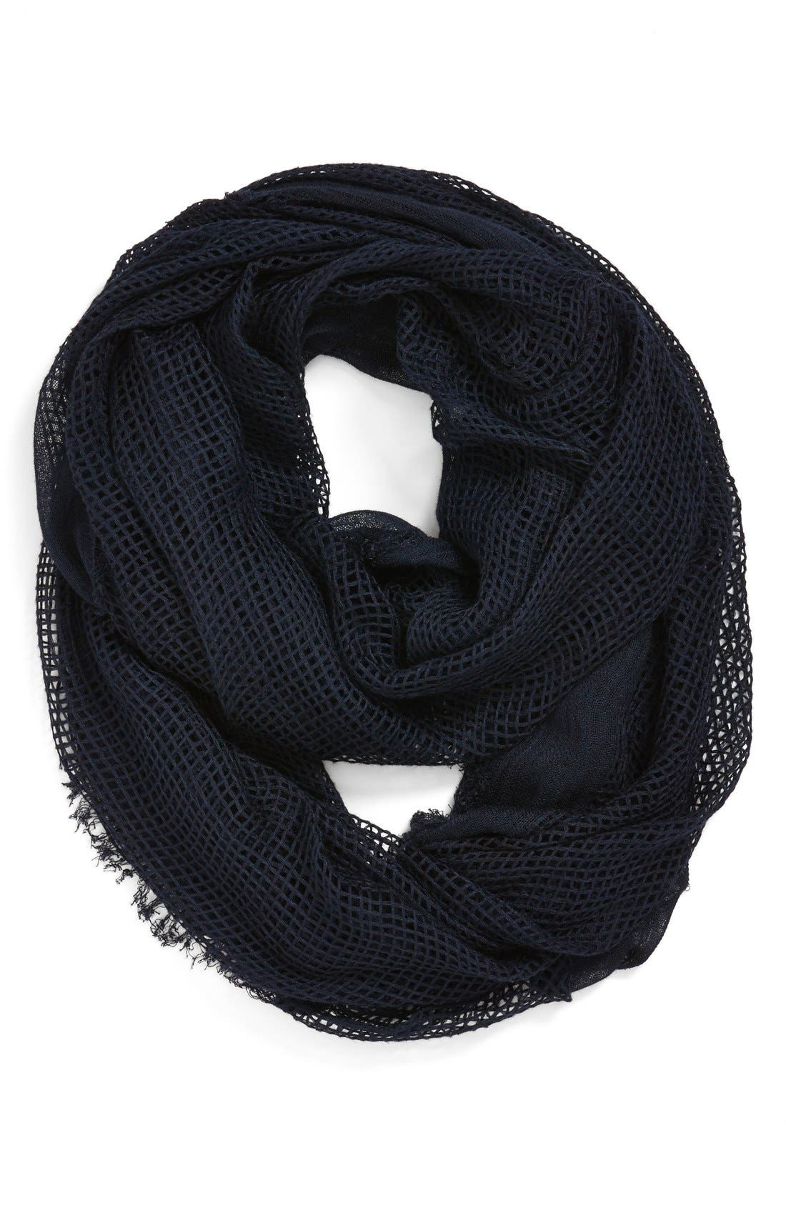 Main Image - Leith Open Stitch Infinity Scarf