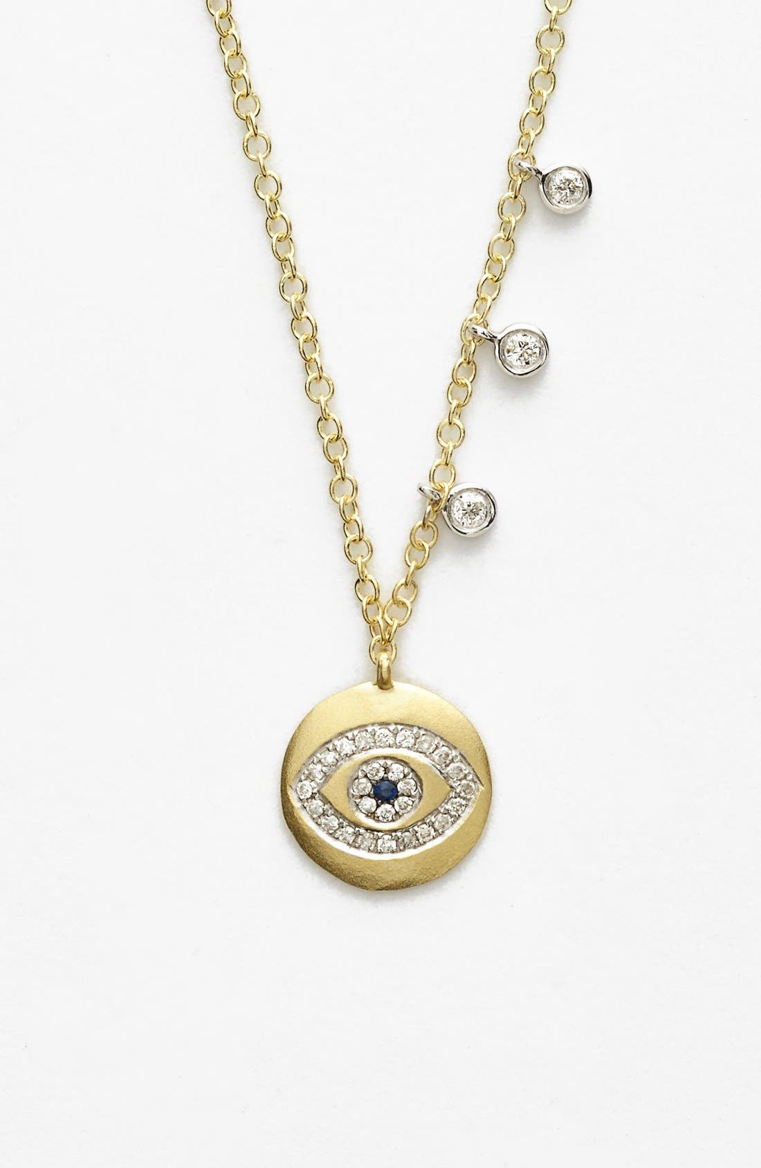 Alternate Image 1 Selected - MeiraT Evil Eye Charm Necklace