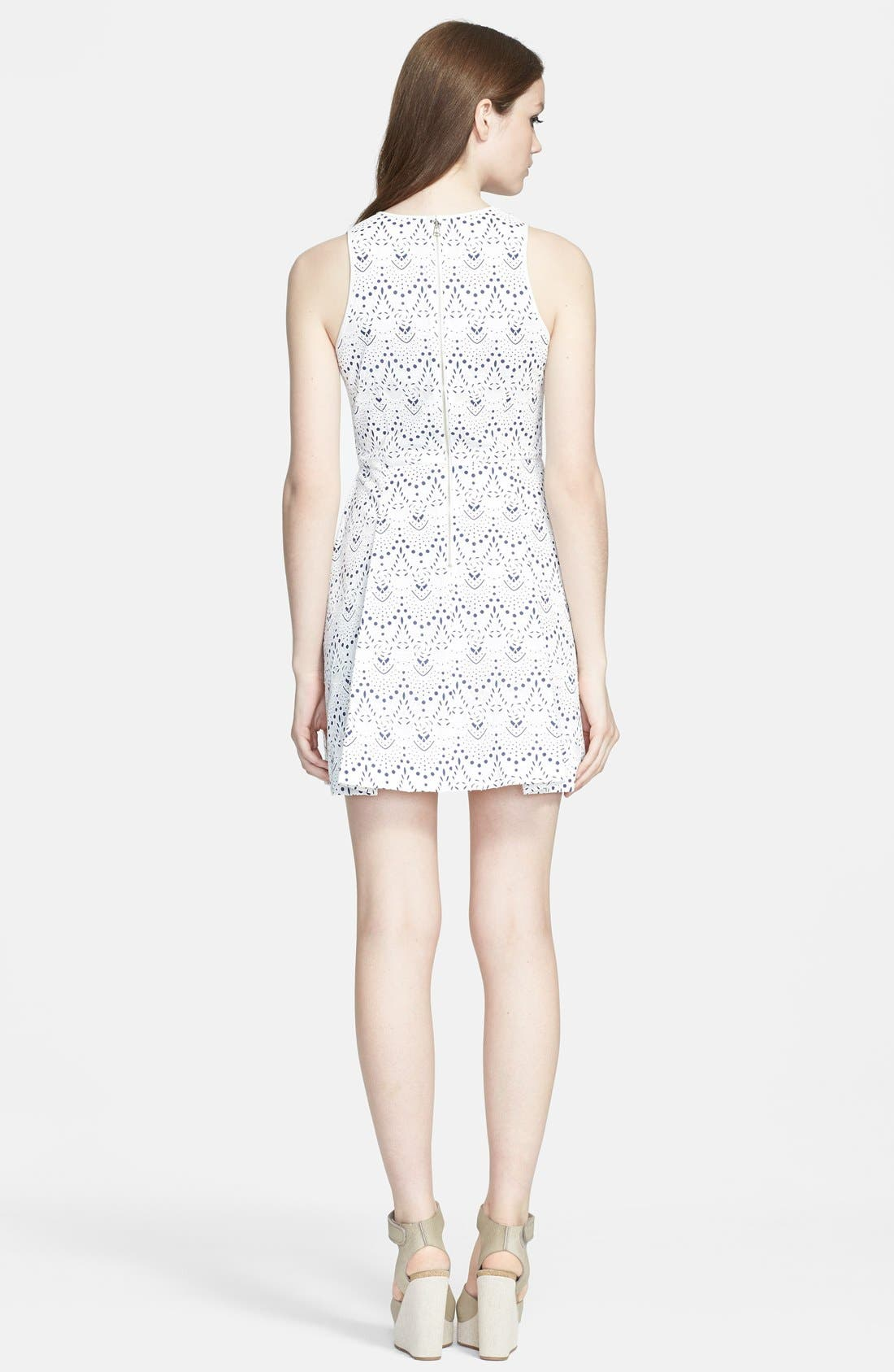 Alternate Image 4  - Mcginn 'Kara' Lace Fit & Flare Dress