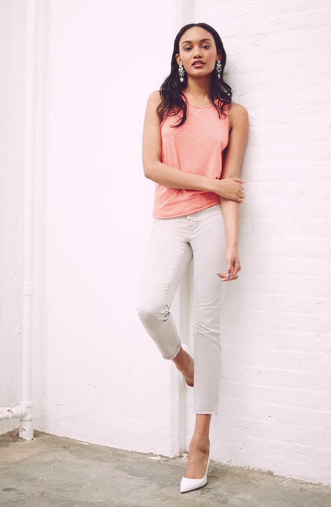 Alternate Image 4  - J Brand Crop Twill Pants