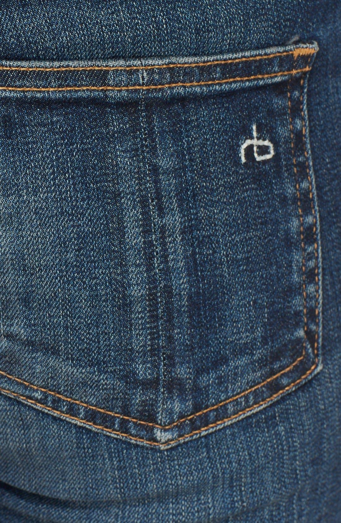 Alternate Image 3  - rag & bone/JEAN Skinny Stretch Jeans (Doheny)