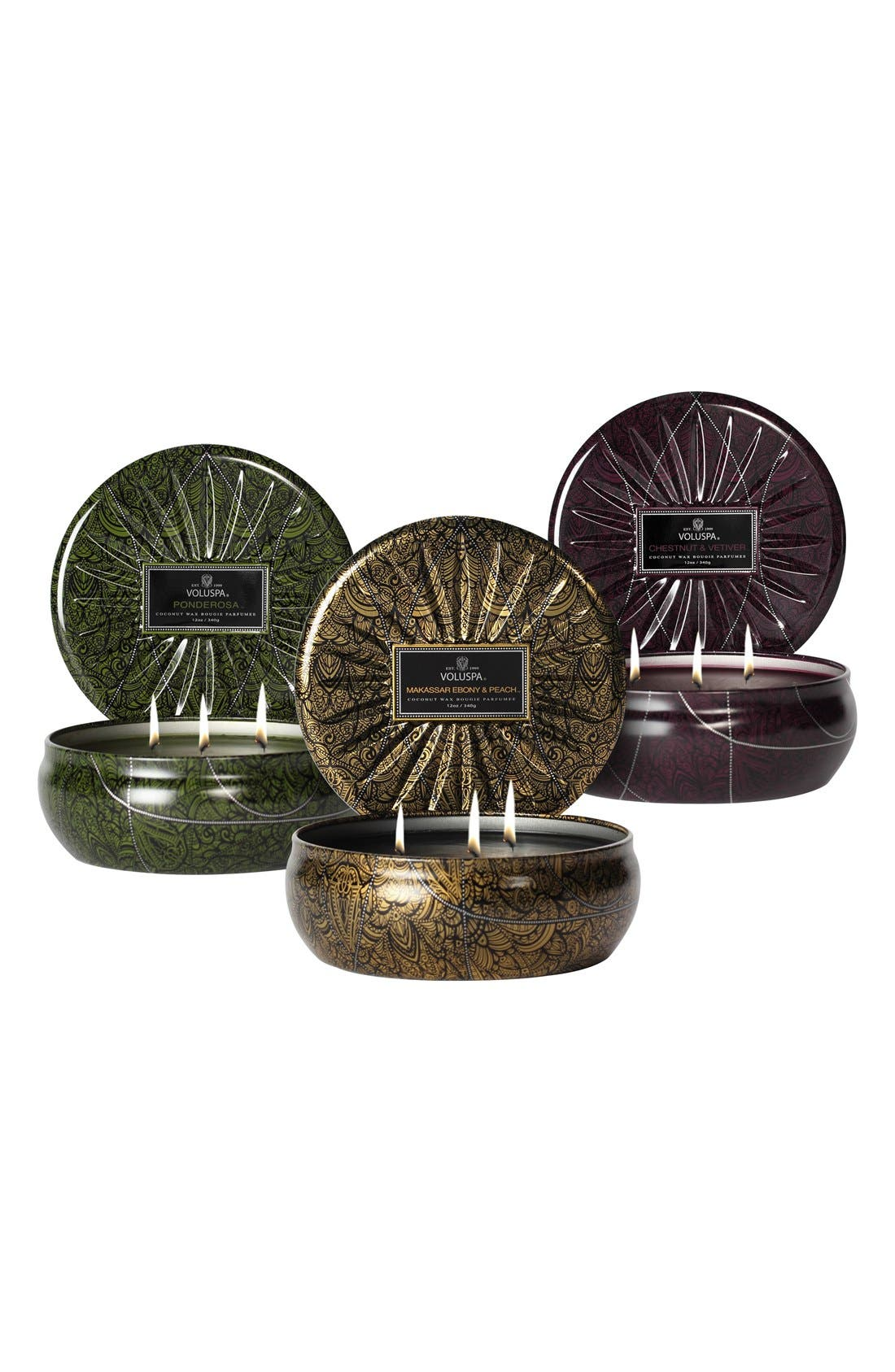 Alternate Image 1 Selected - Voluspa 'Vermeil' Three-Wick Candle Trio ($60 Value)
