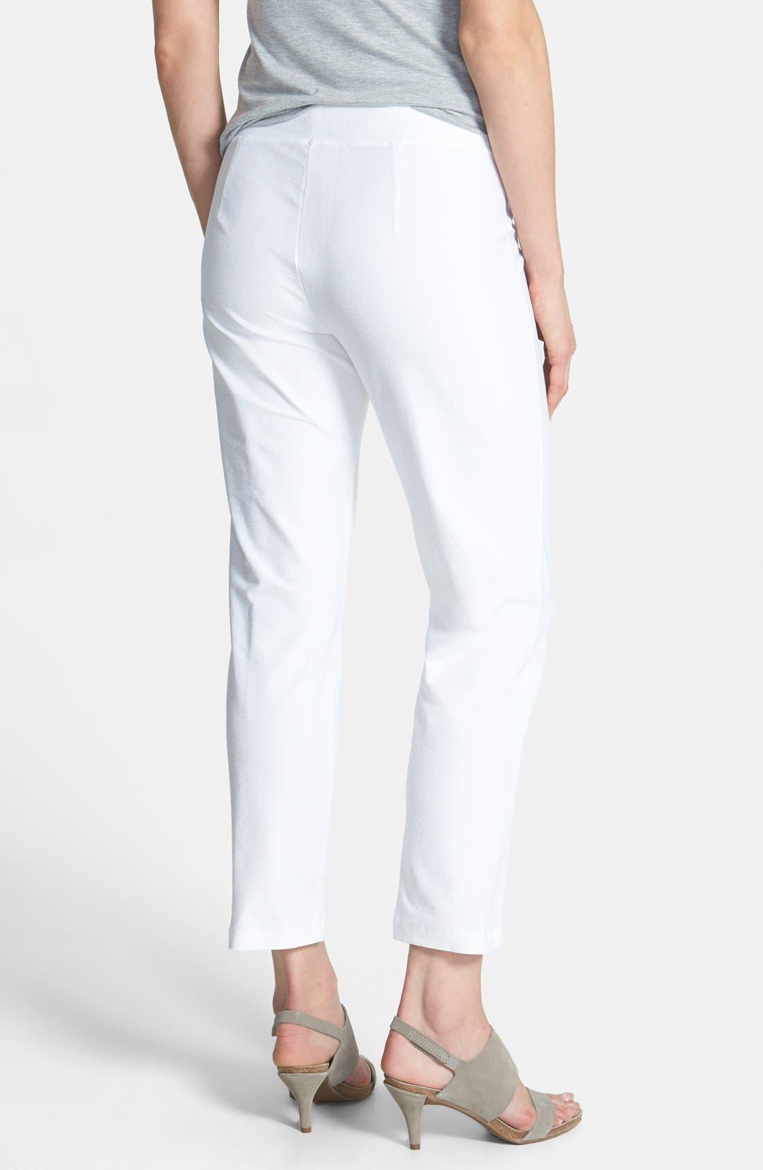Alternate Image 2  - Eileen Fisher Slim Ankle Pants (Regular & Petite)